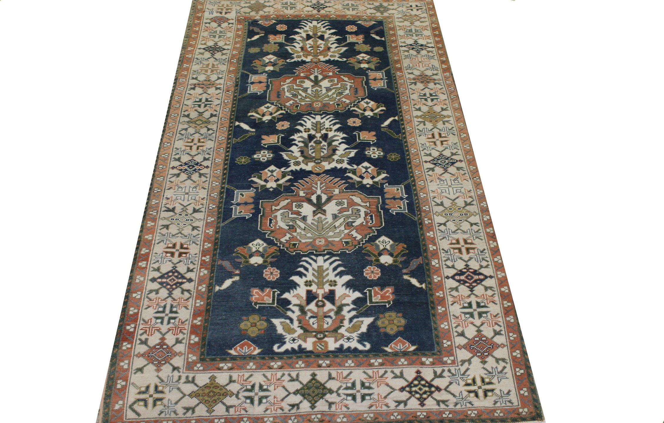 5x7/8 Oushak Hand Knotted Wool Area Rug - MR023460