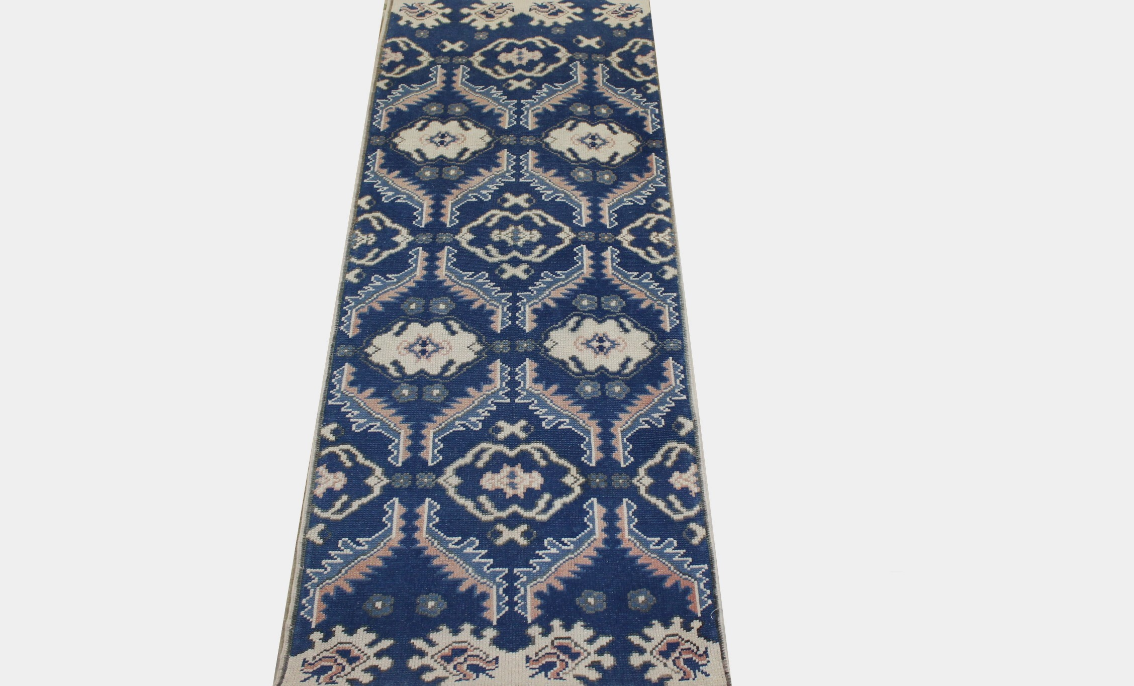 6 ft. Runner Oushak Hand Knotted Wool Area Rug - MR023465