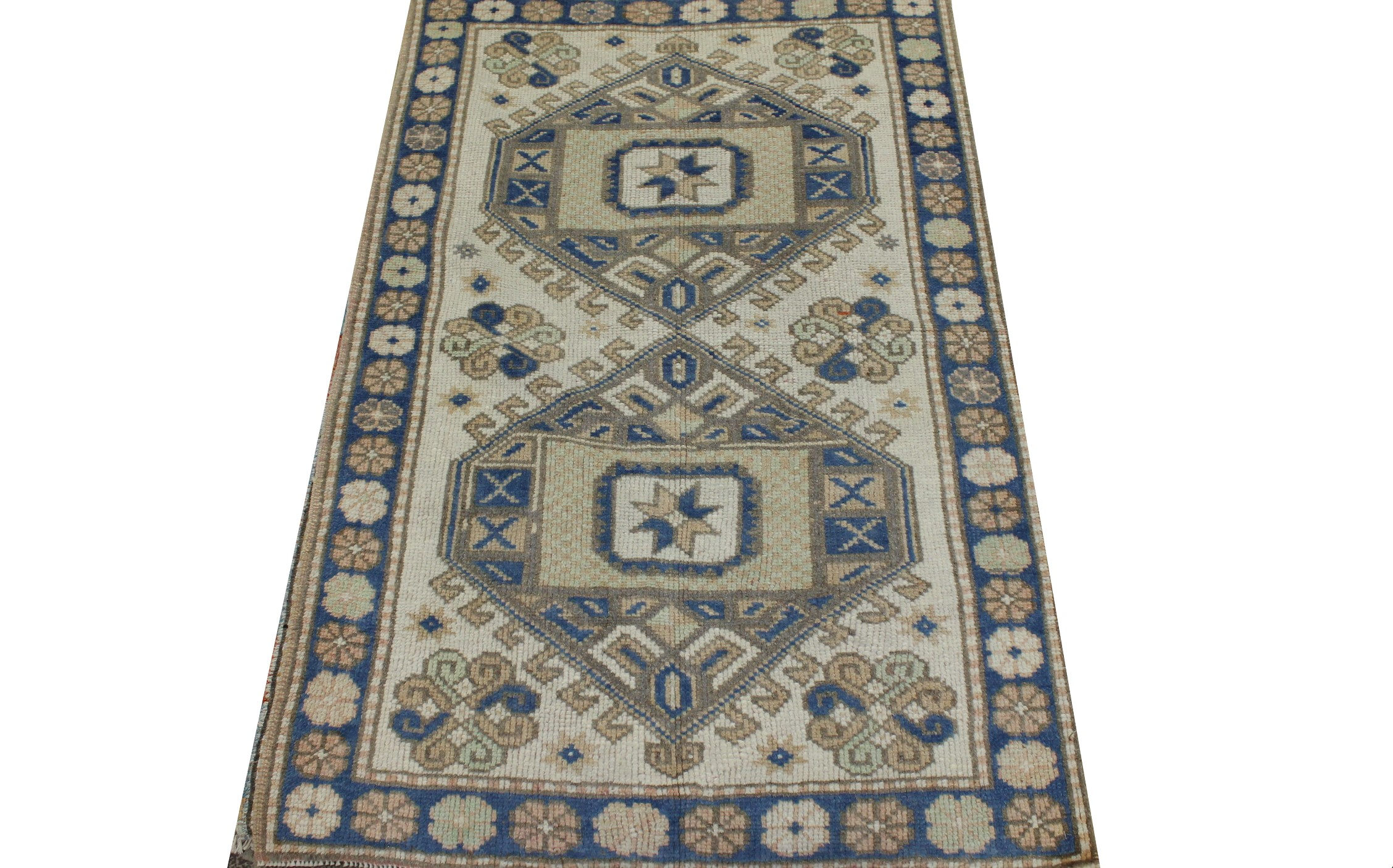 3x5 Oushak Hand Knotted Wool Area Rug - MR023467