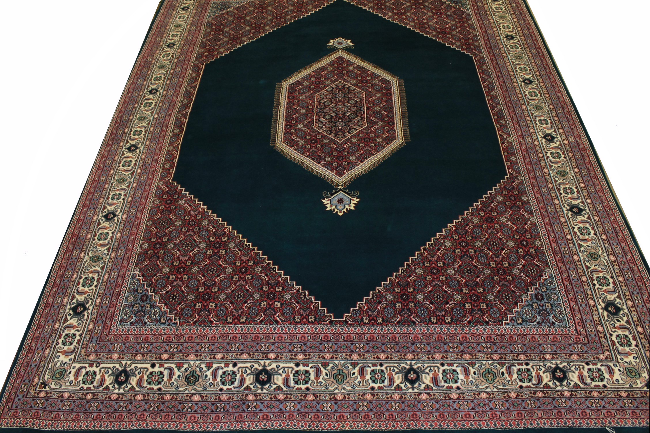 9x12 Traditional Hand Knotted Wool Area Rug - MR0237