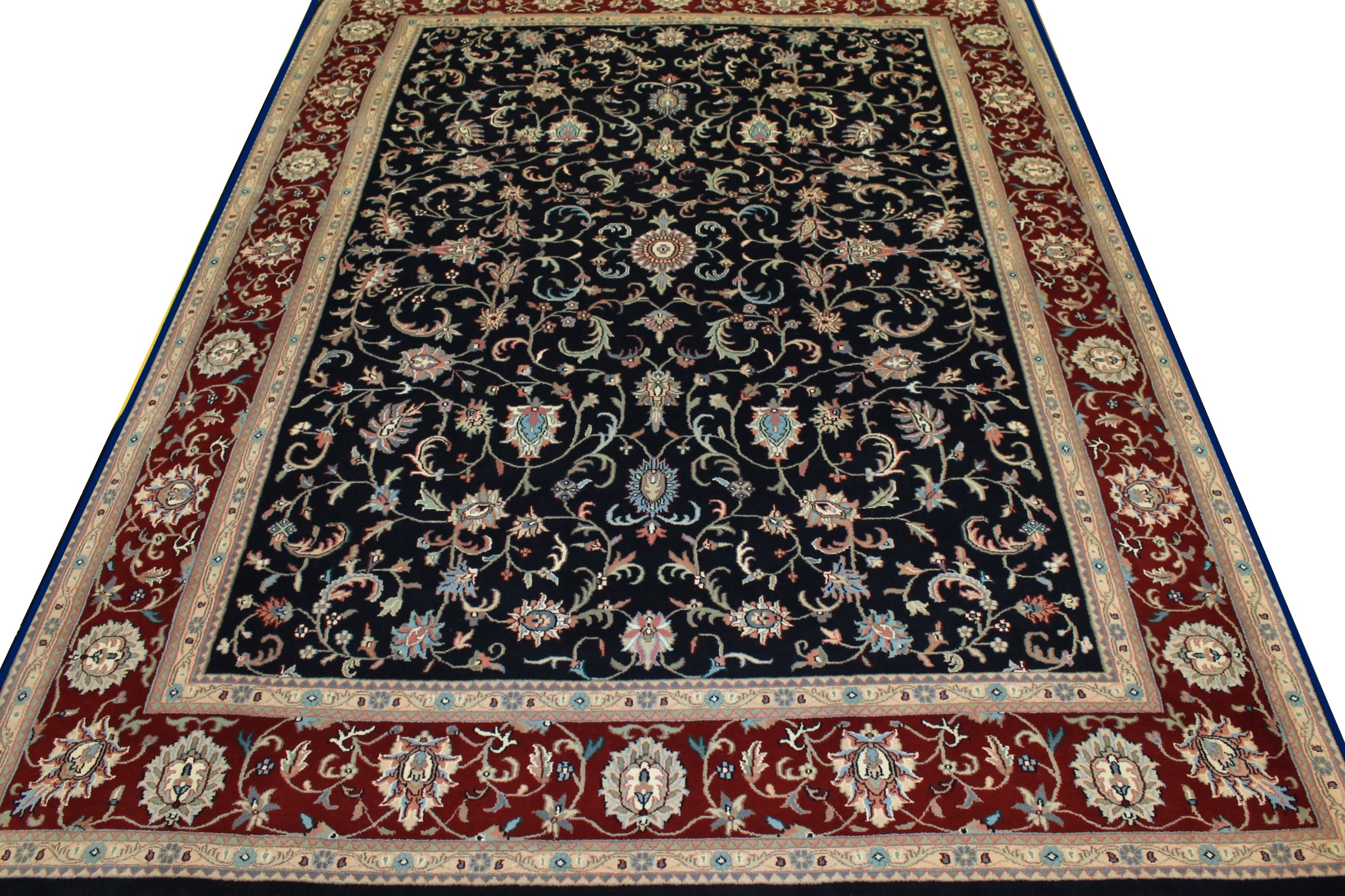 9x12 Traditional Hand Knotted Wool Area Rug - MR0238