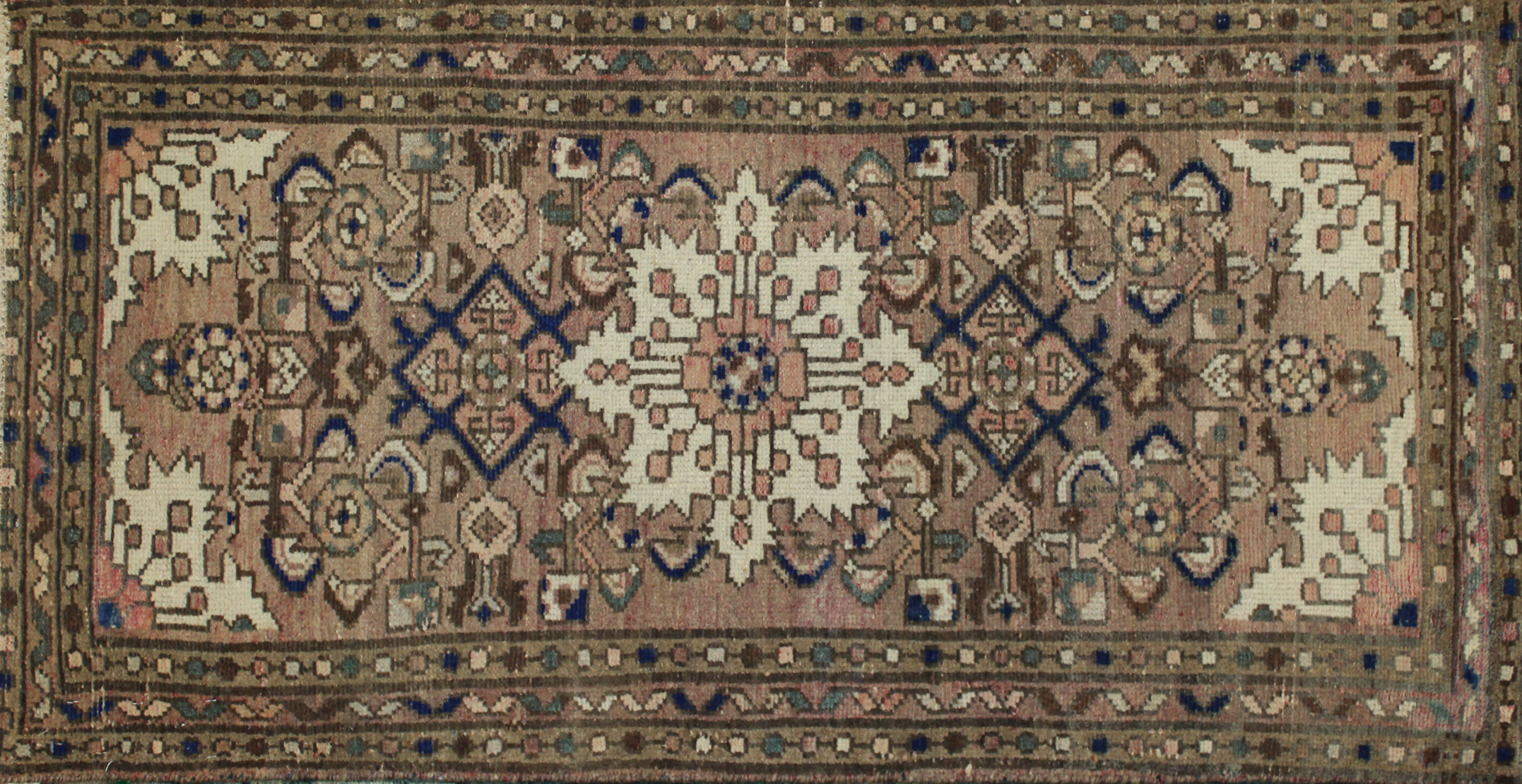 2X4 Vintage Hand Knotted Wool Area Rug - MR023931