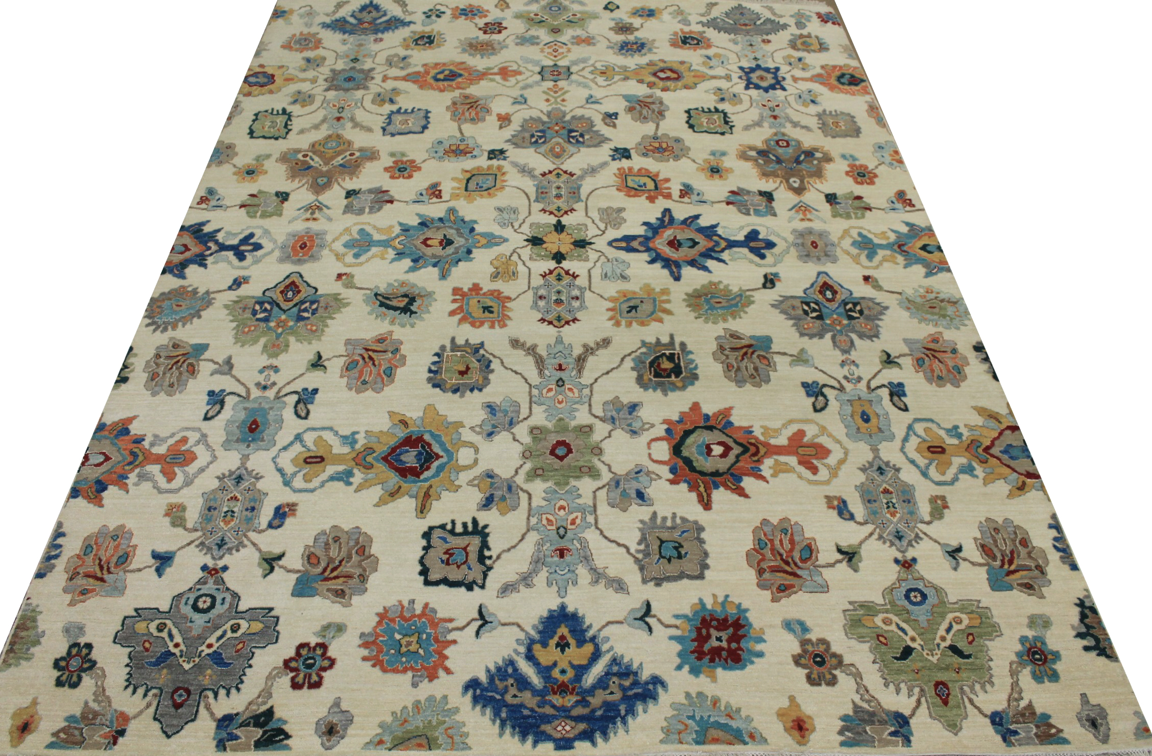 9x12 Traditional Hand Knotted Wool Area Rug - MR024060