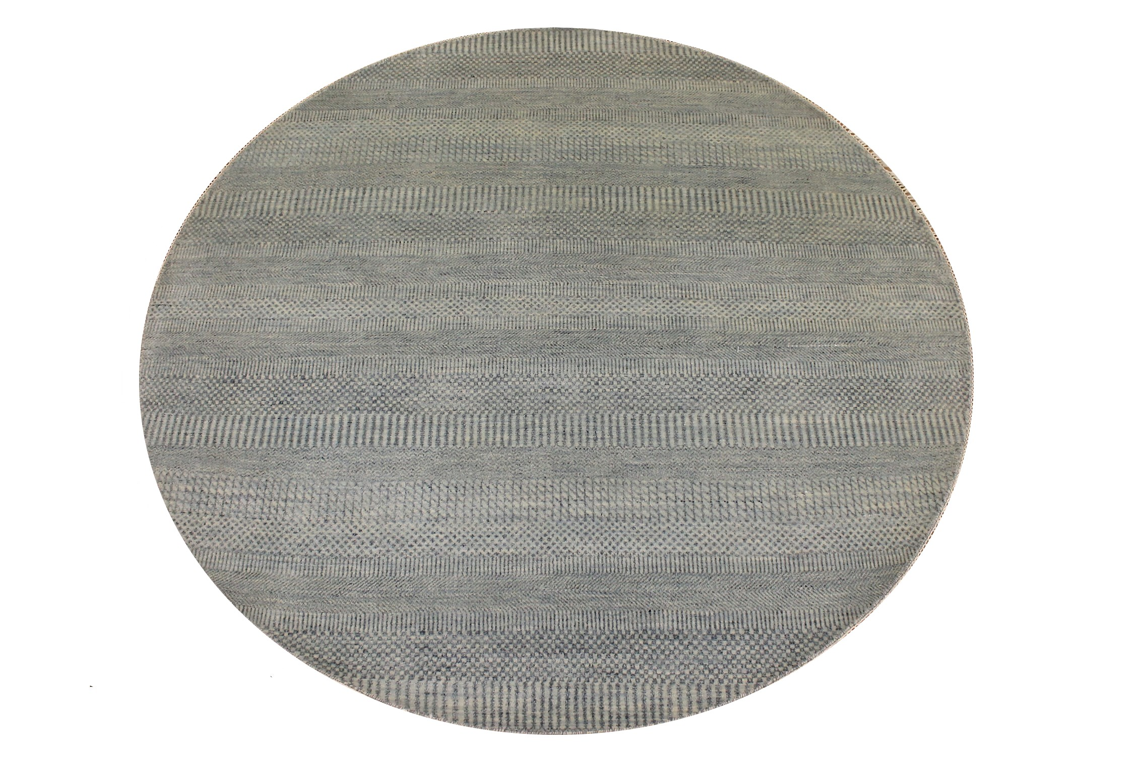 6 ft. - 7 ft. Round & Square Casual Hand Knotted Wool & Viscose Area Rug - MR024074
