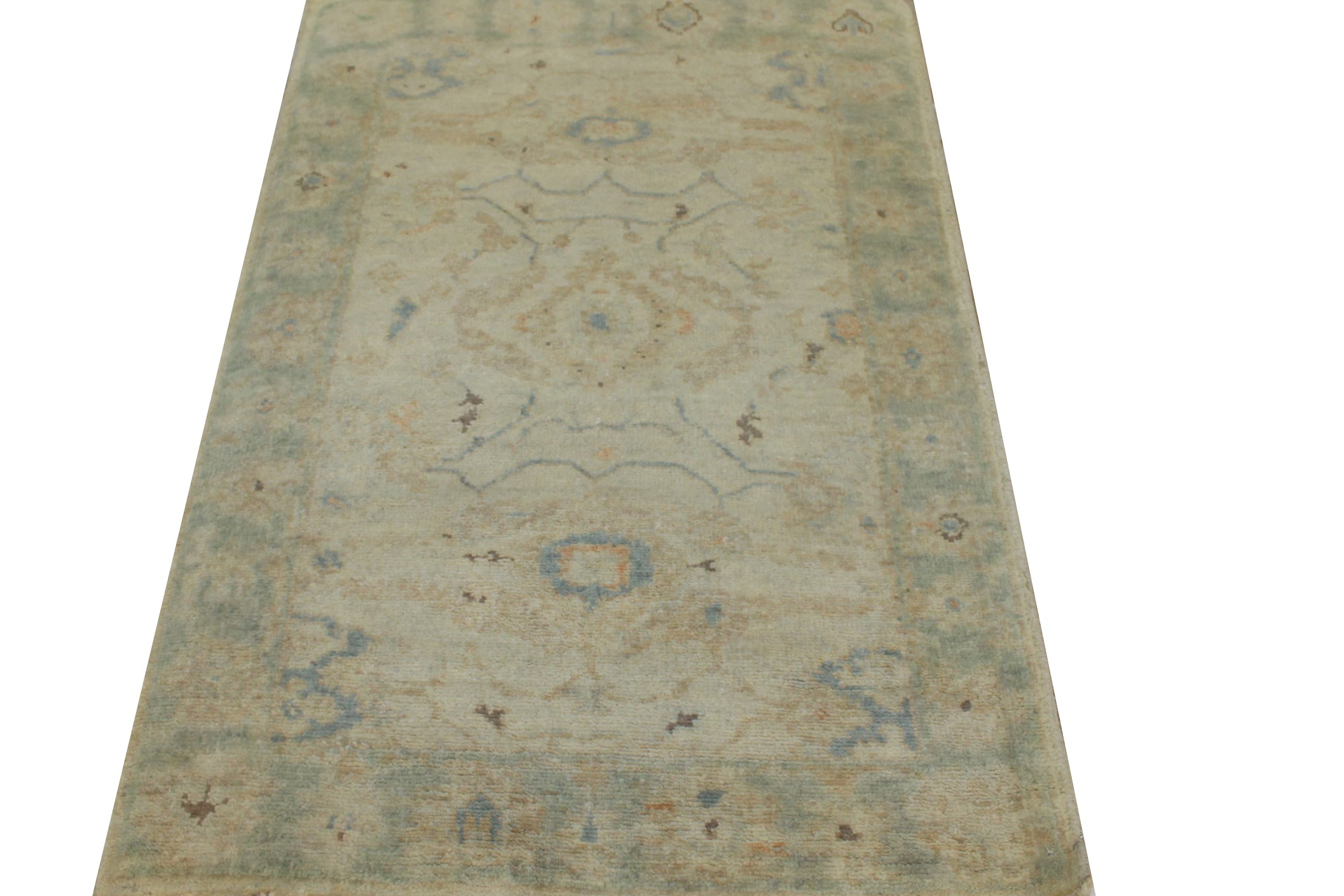 2X4 Oushak Hand Knotted Wool Area Rug - MR024223