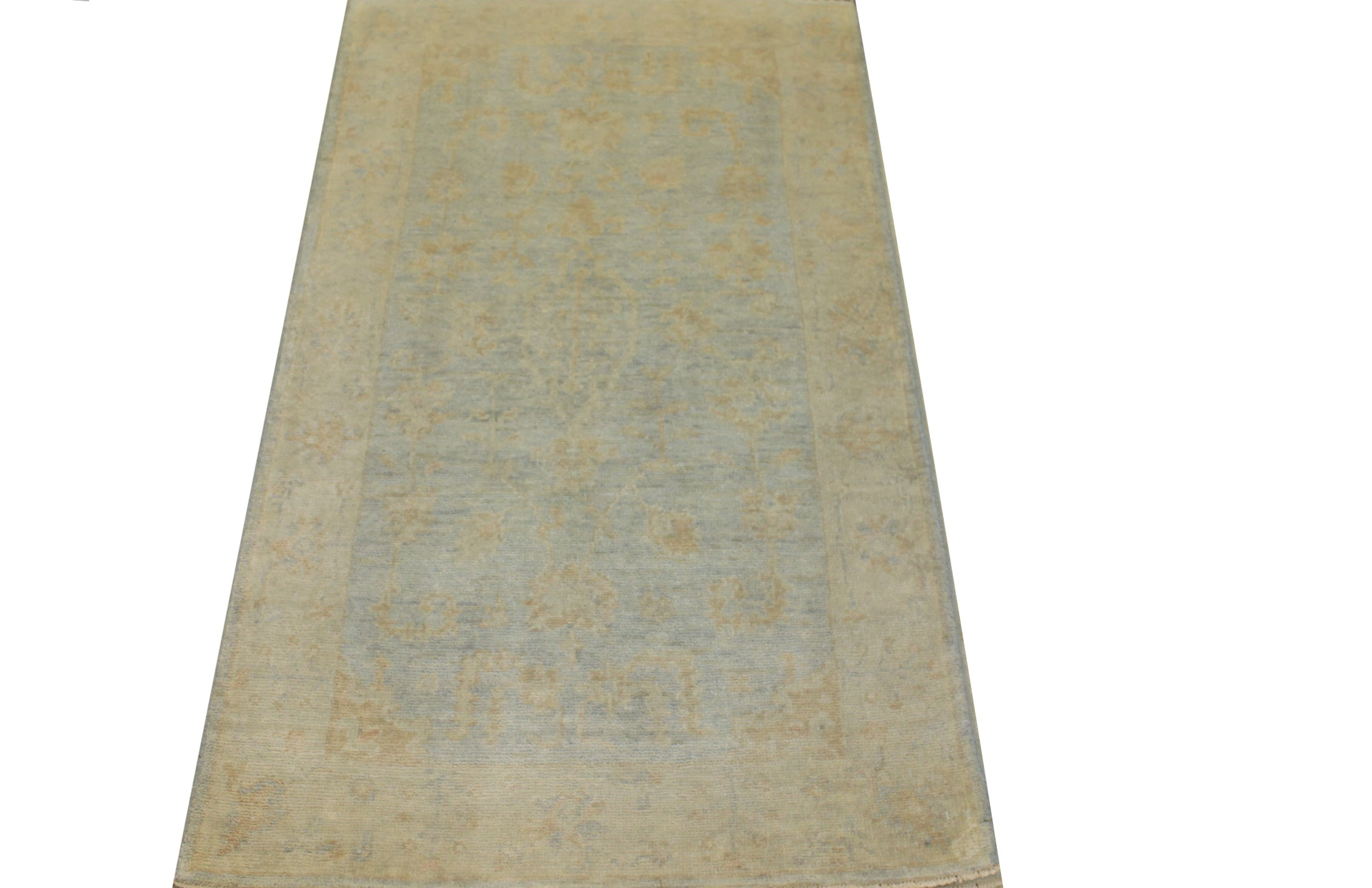 3x5 Oushak Hand Knotted Wool Area Rug - MR024225