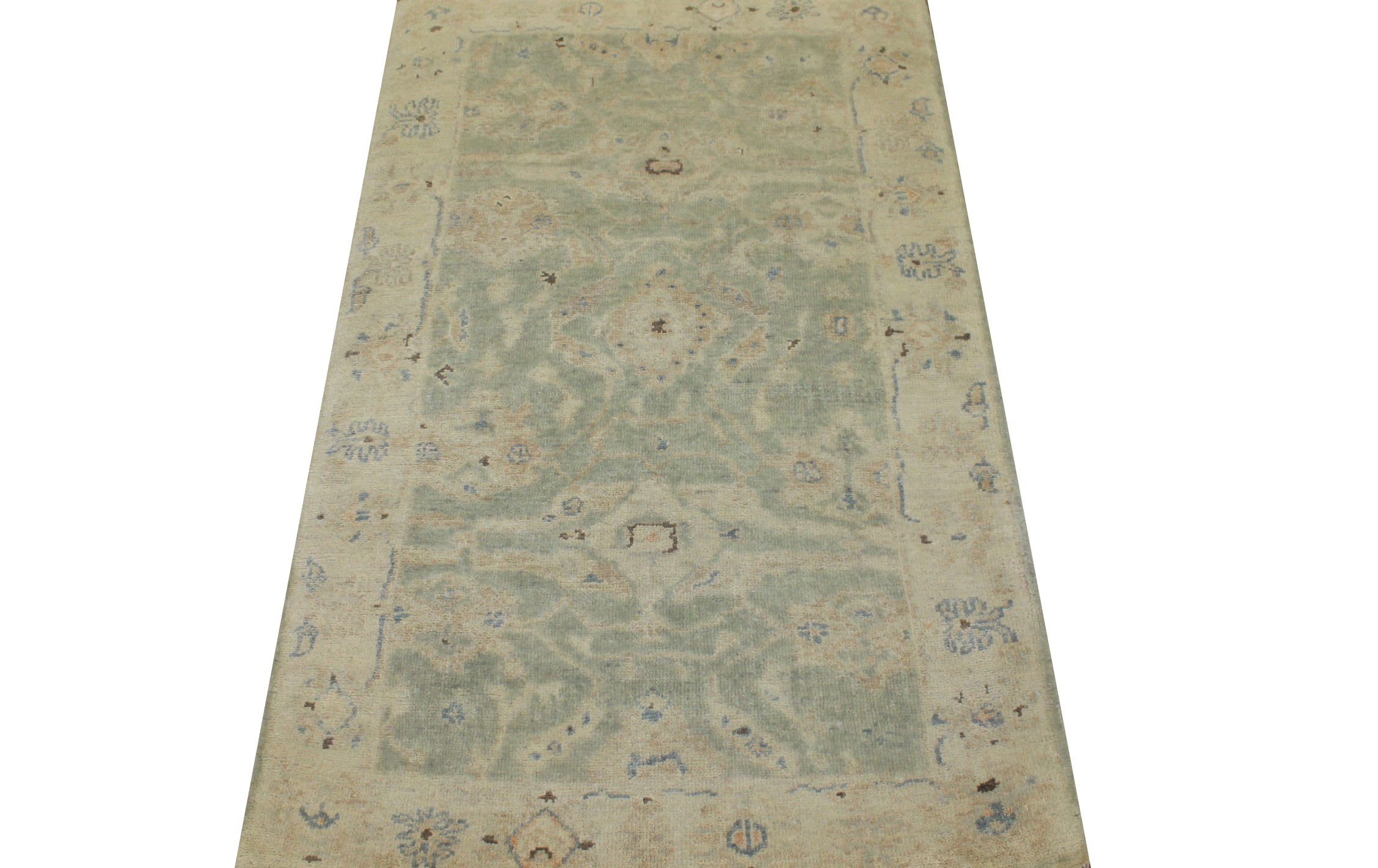 3x5 Oushak Hand Knotted Wool Area Rug - MR024228