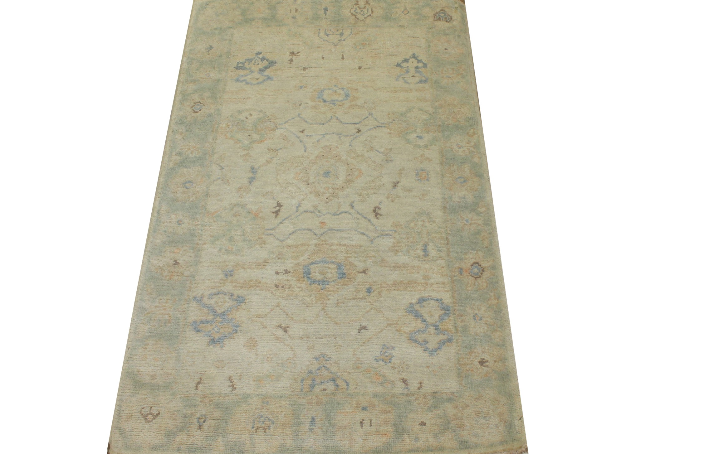 3x5 Oushak Hand Knotted Wool Area Rug - MR024229