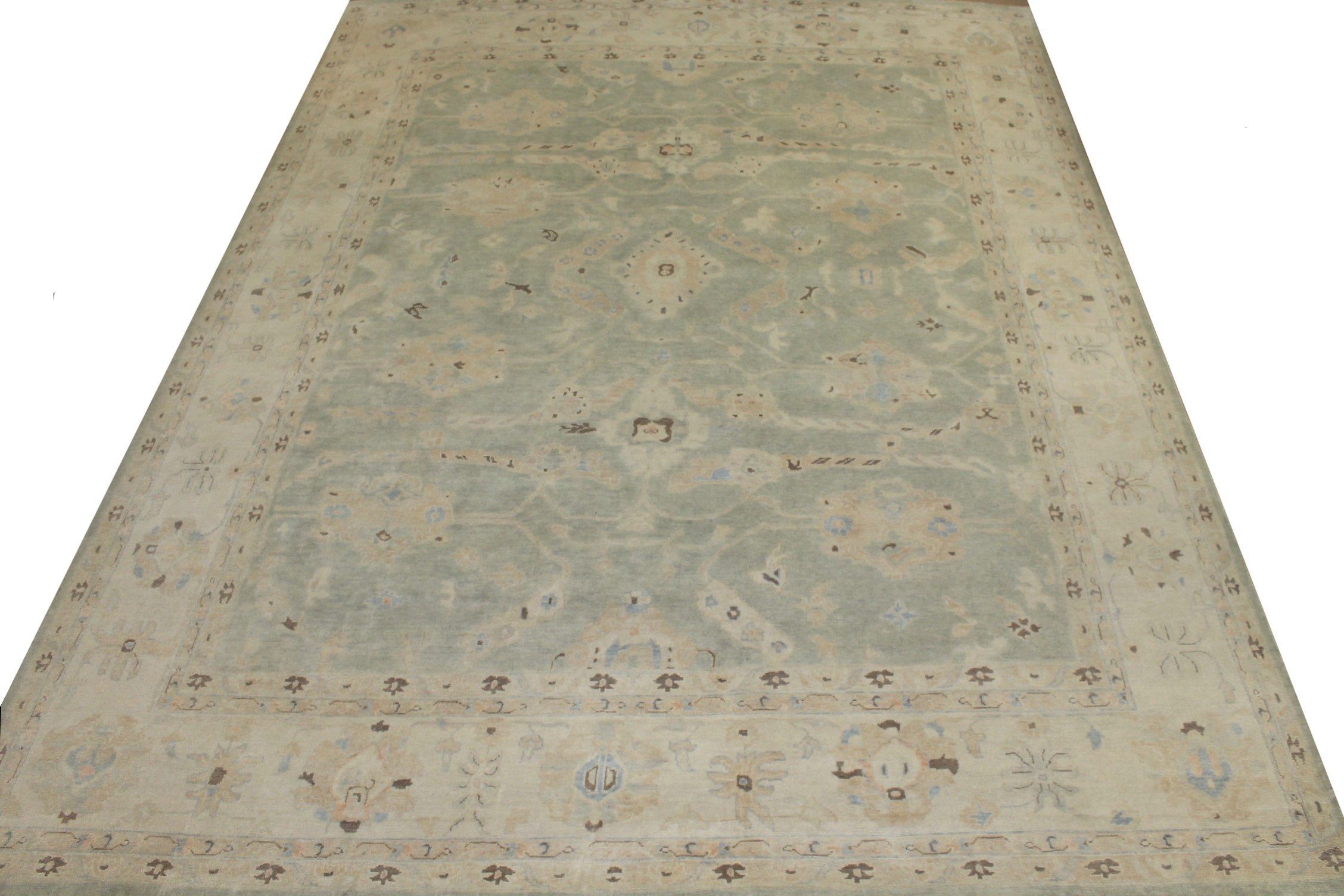 OVERSIZE Oushak Hand Knotted Wool Area Rug - MR024238