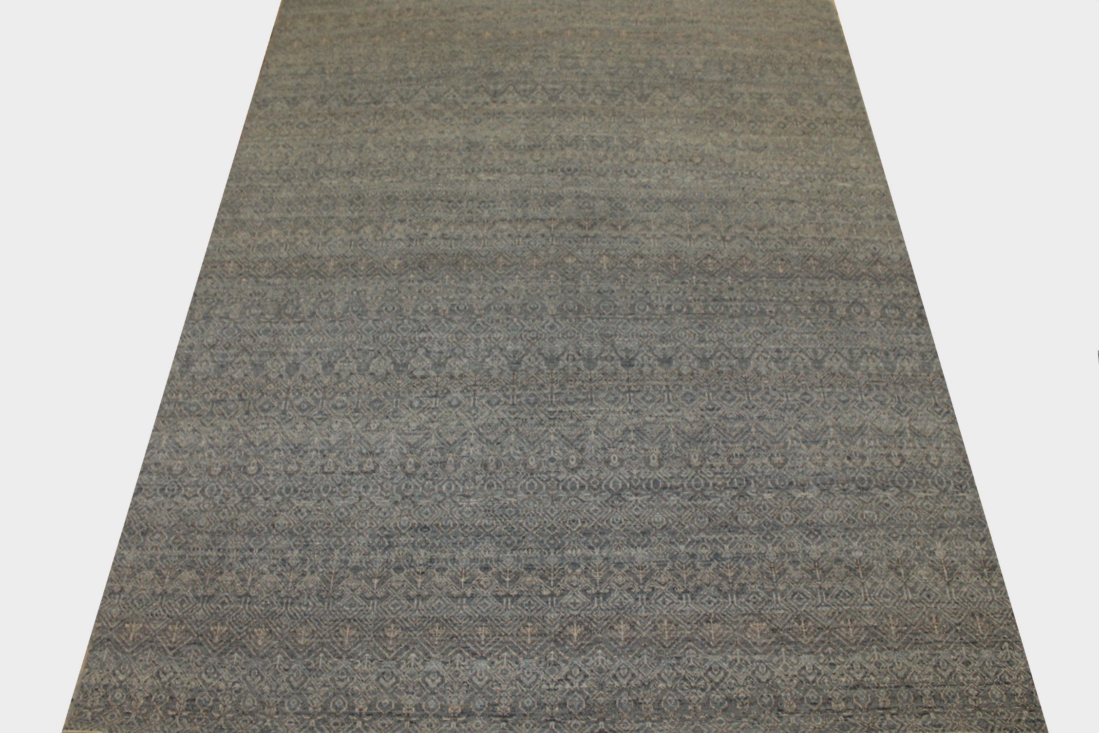 8x10 Casual Hand Knotted Wool Area Rug - MR024269