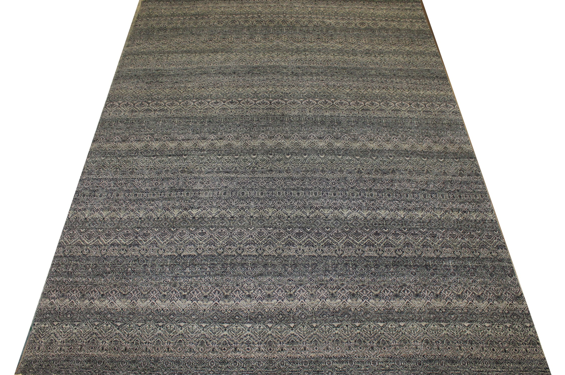 9x12 Casual Hand Knotted Wool Area Rug - MR024270
