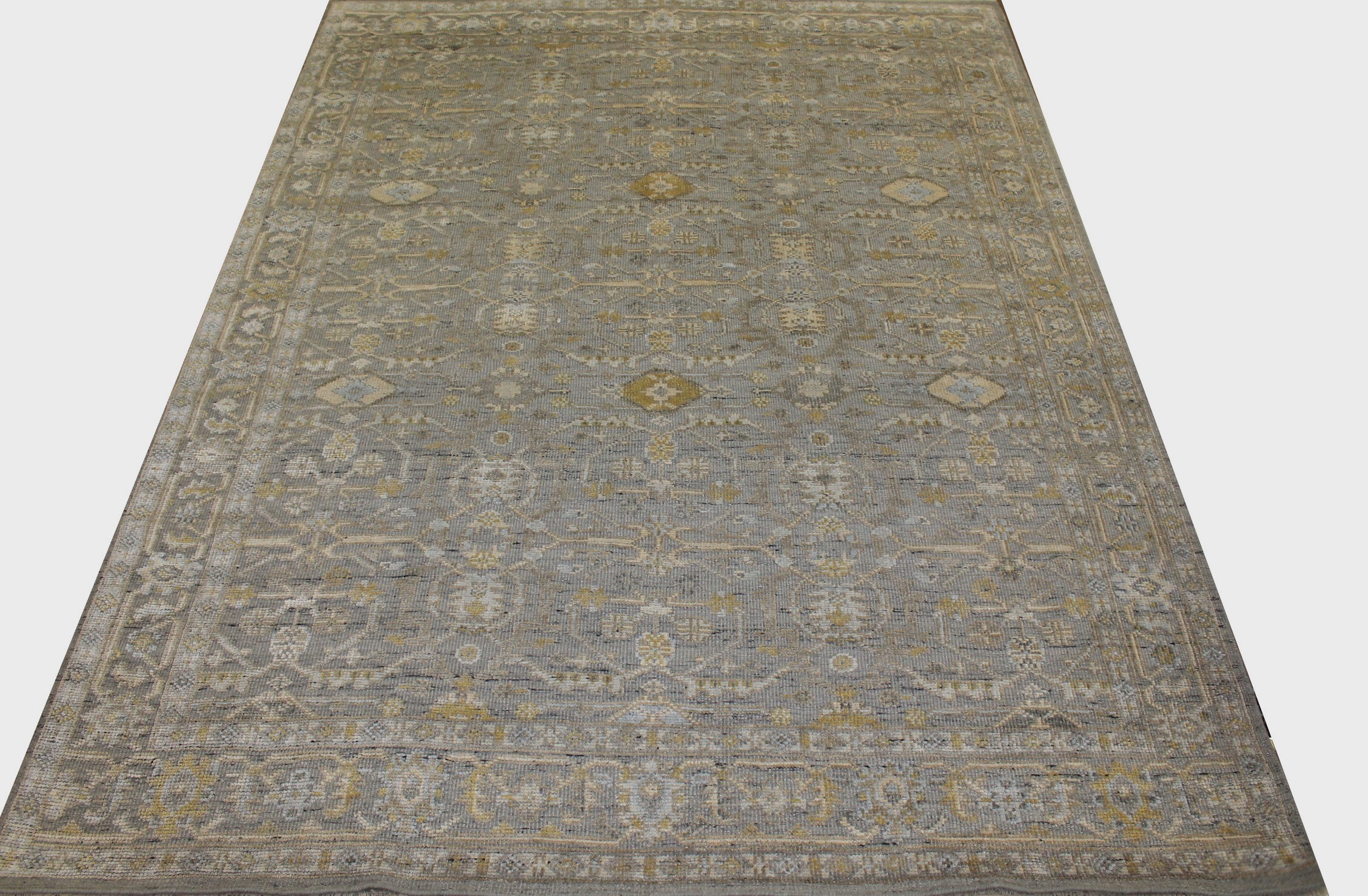 9x12 Oushak Hand Knotted Wool Area Rug - MR024292