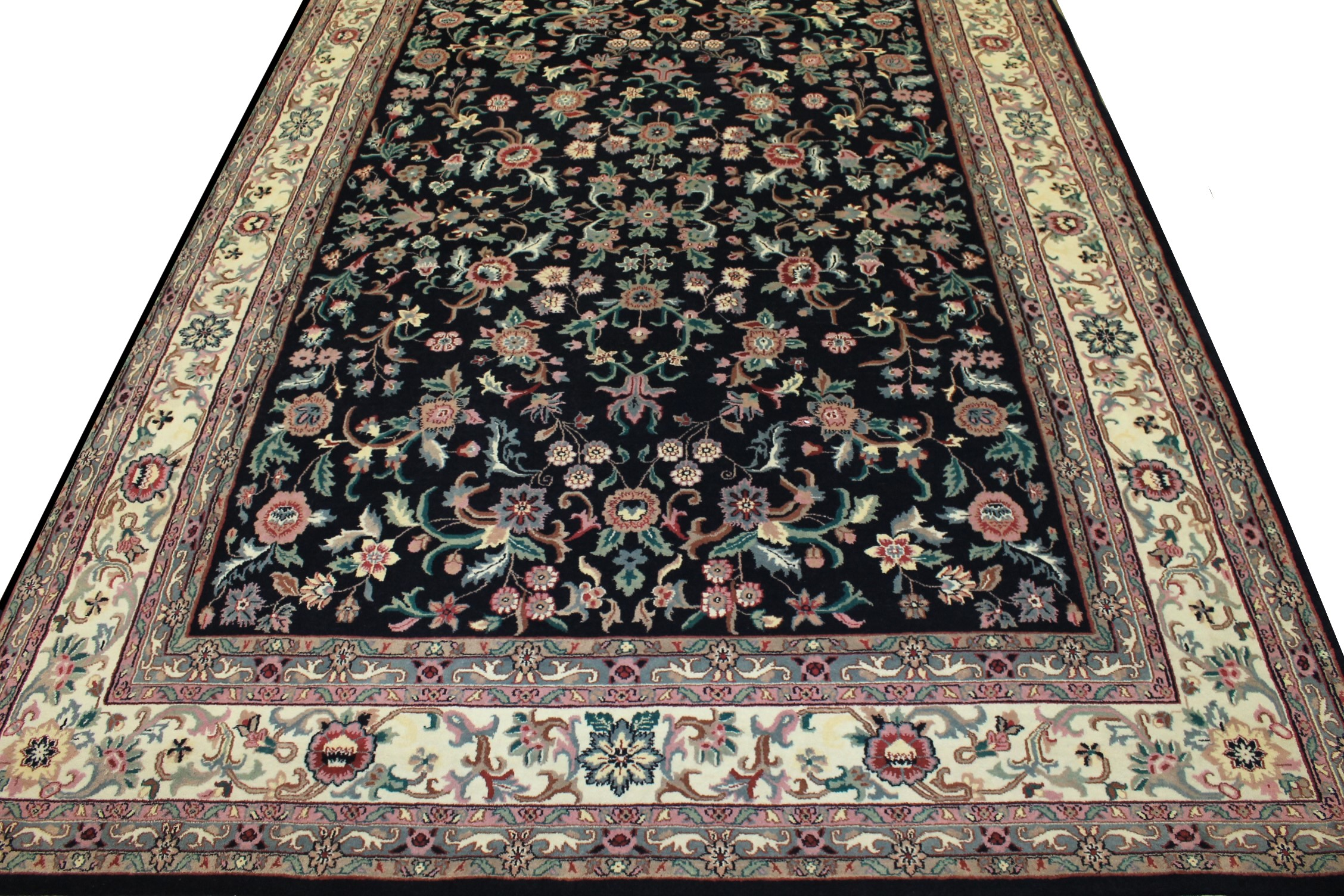 9x12 Traditional Hand Knotted Wool Area Rug - MR0243