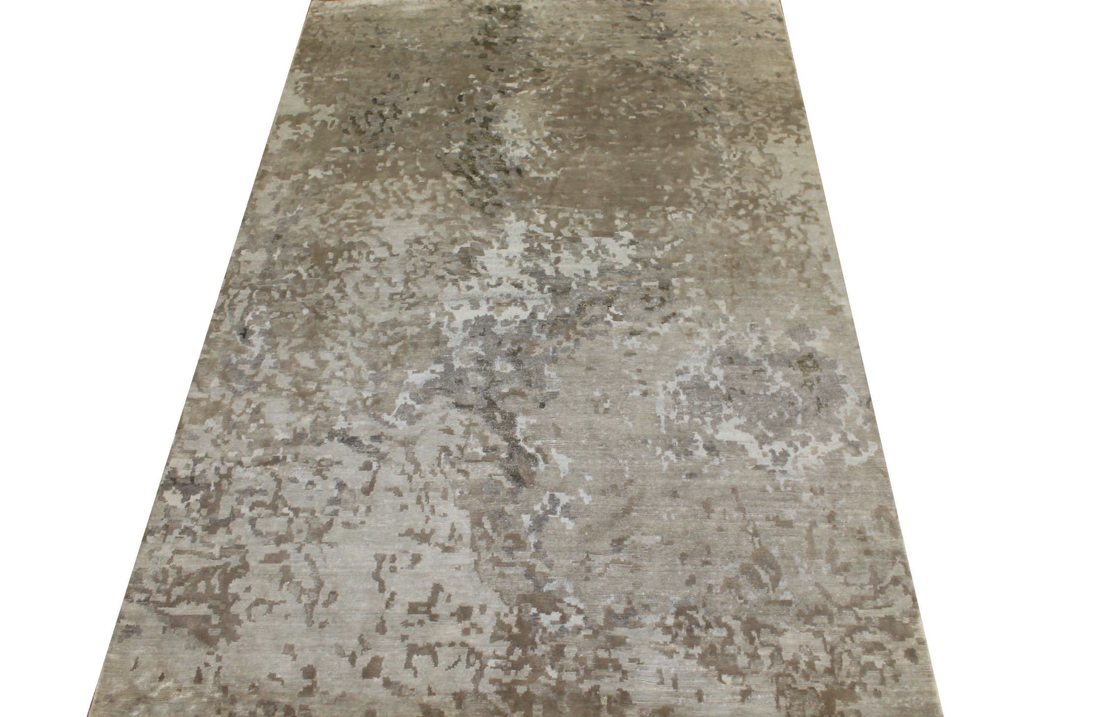 6x9 Modern Hand Knotted Wool Area Rug - MR024312