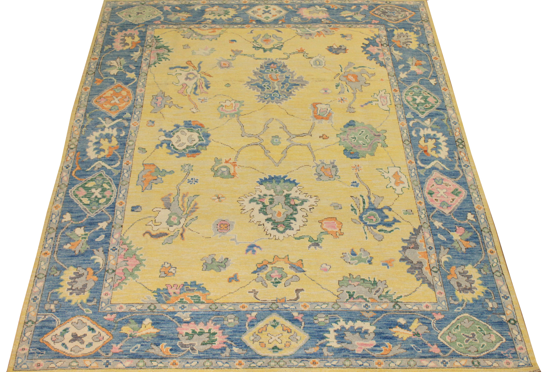 8x10 Oushak Hand Knotted Wool Area Rug - MR024403