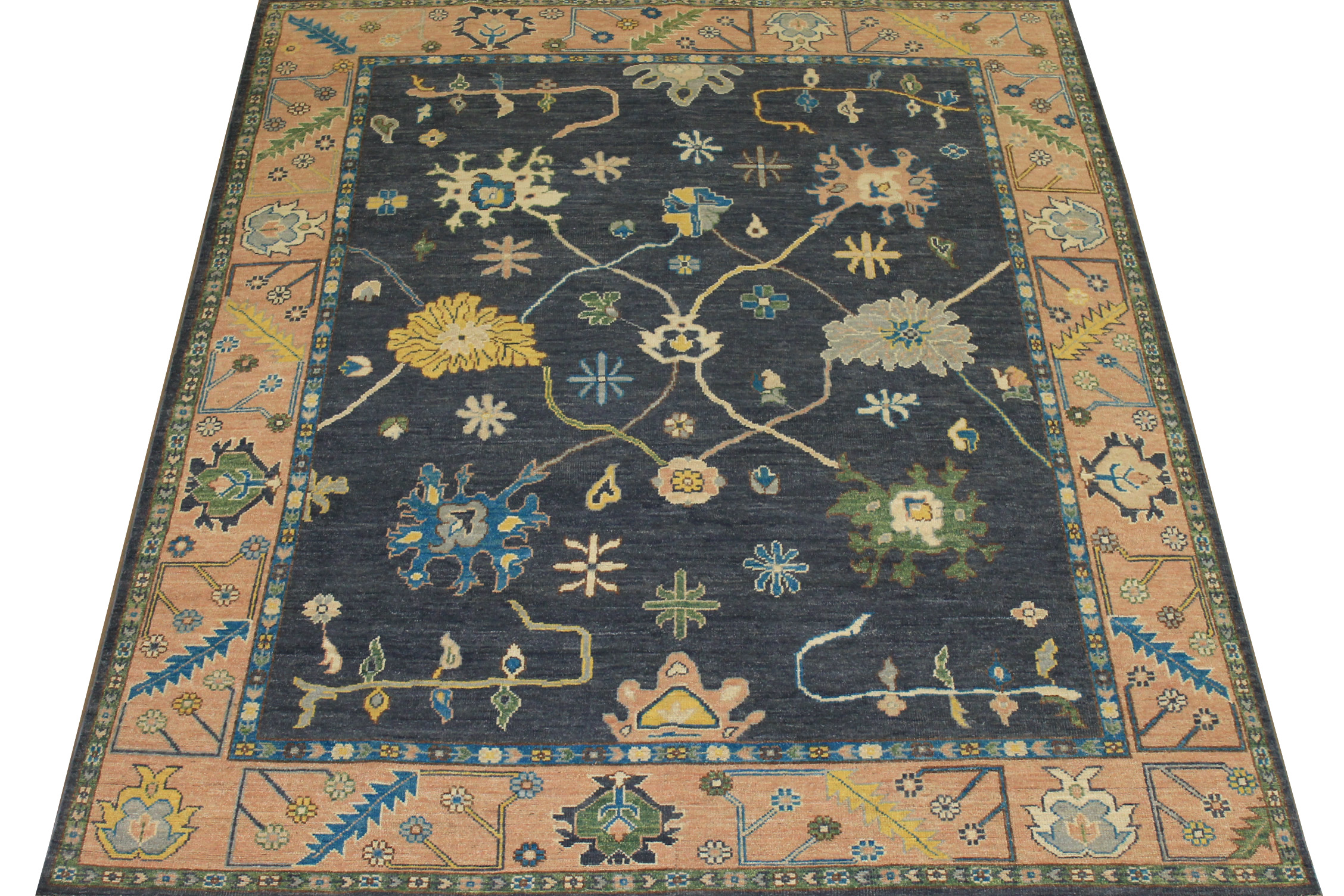 8x10 Oushak Hand Knotted Wool Area Rug - MR024405
