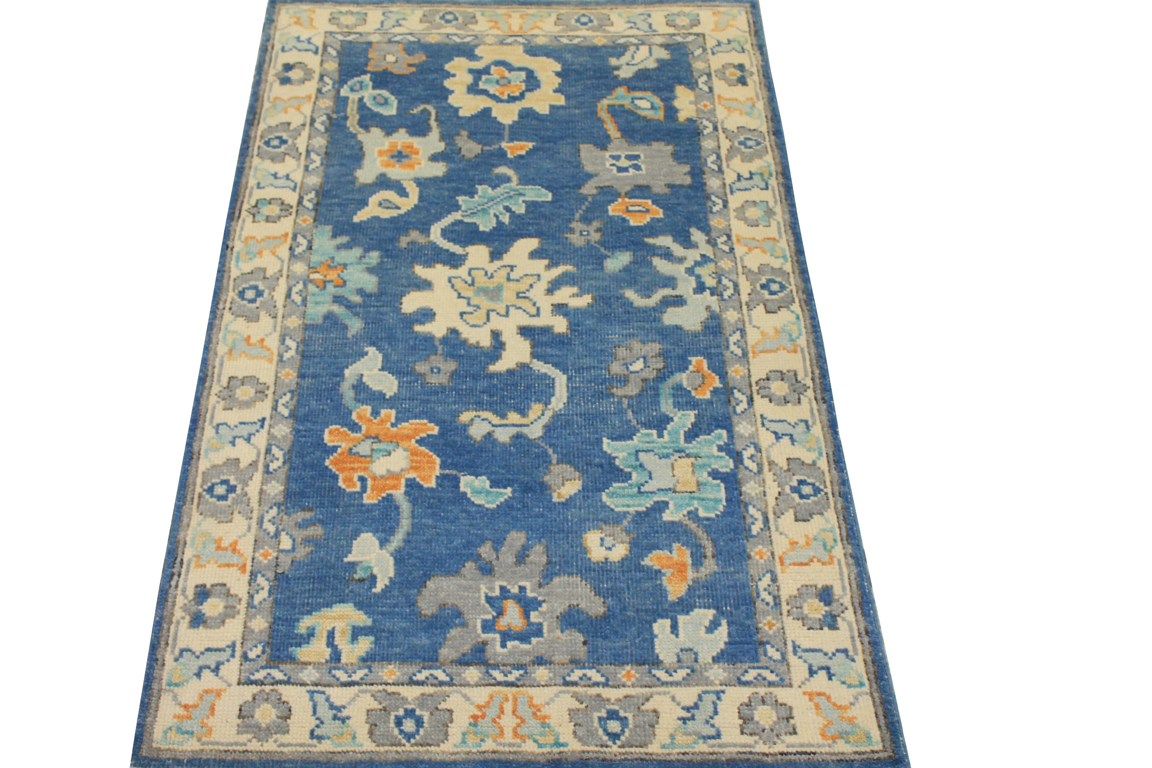 3x5 Oushak Hand Knotted Wool Area Rug - MR024418