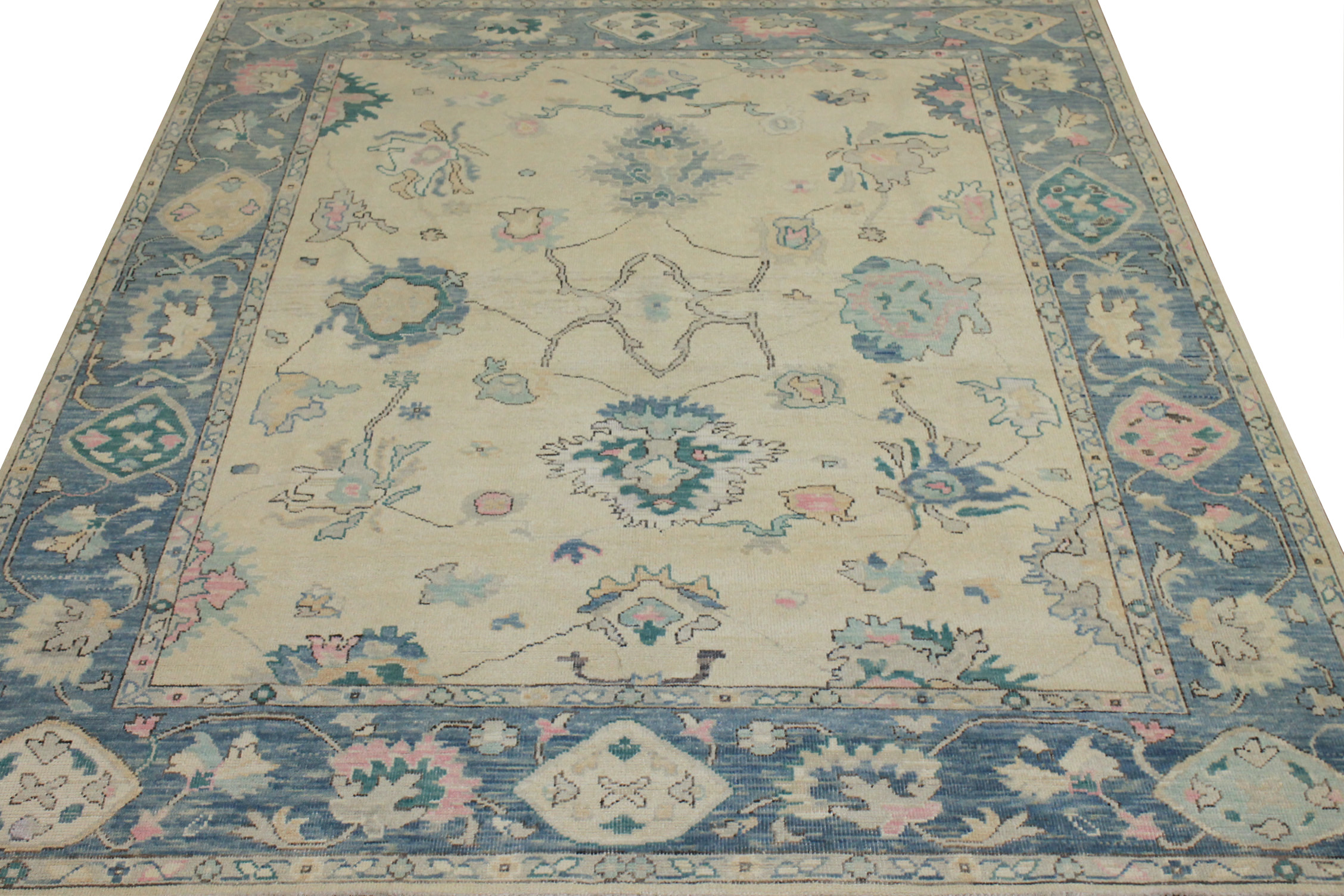 8x10 Oushak Hand Knotted Wool Area Rug - MR024426