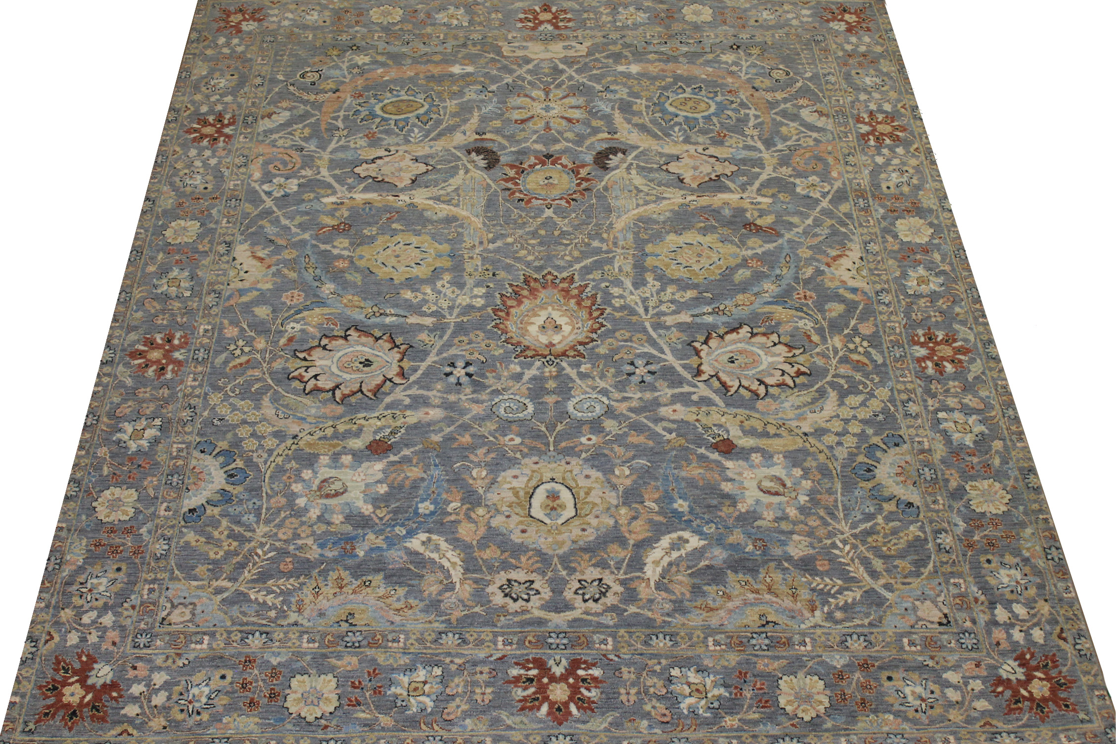8x10 Traditional Hand Knotted Wool Area Rug - MR024598