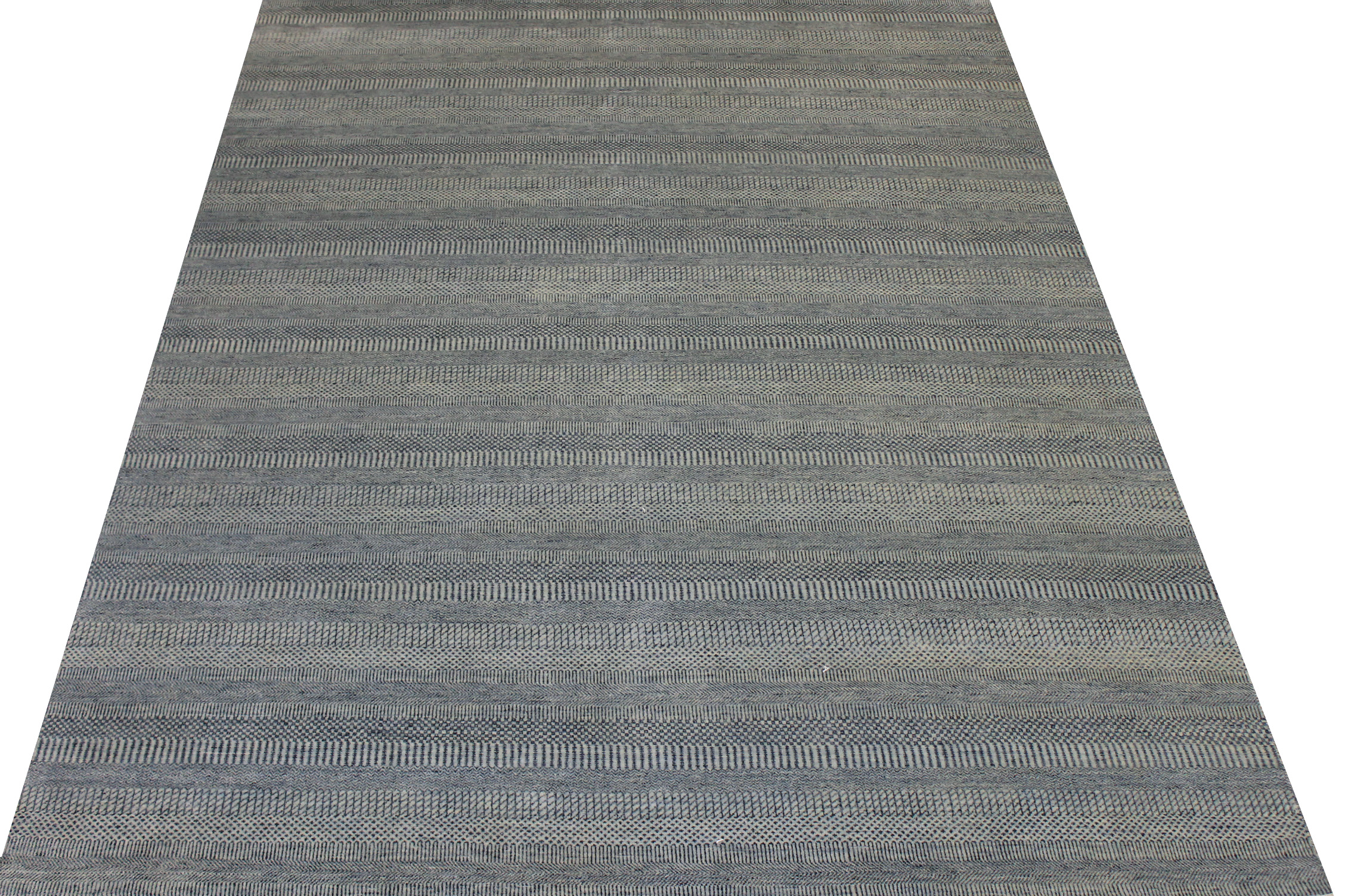 9x12 Casual Hand Knotted Wool & Viscose Area Rug - MR024607