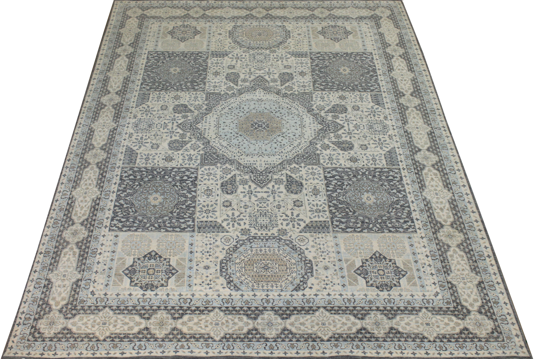 9x12 Traditional Hand Knotted Wool Area Rug - MR024609