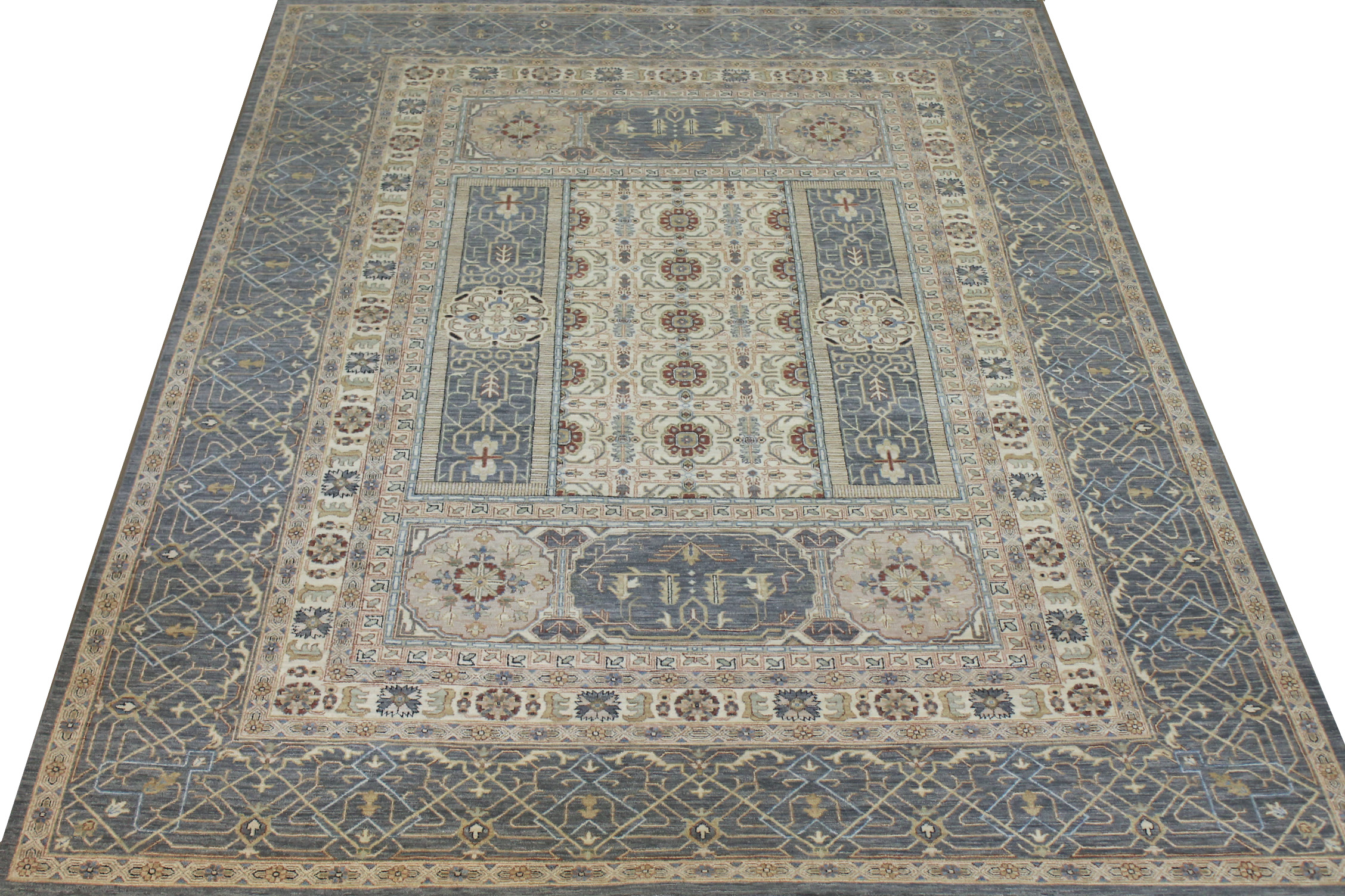 9x12 Traditional Hand Knotted Wool Area Rug - MR024610