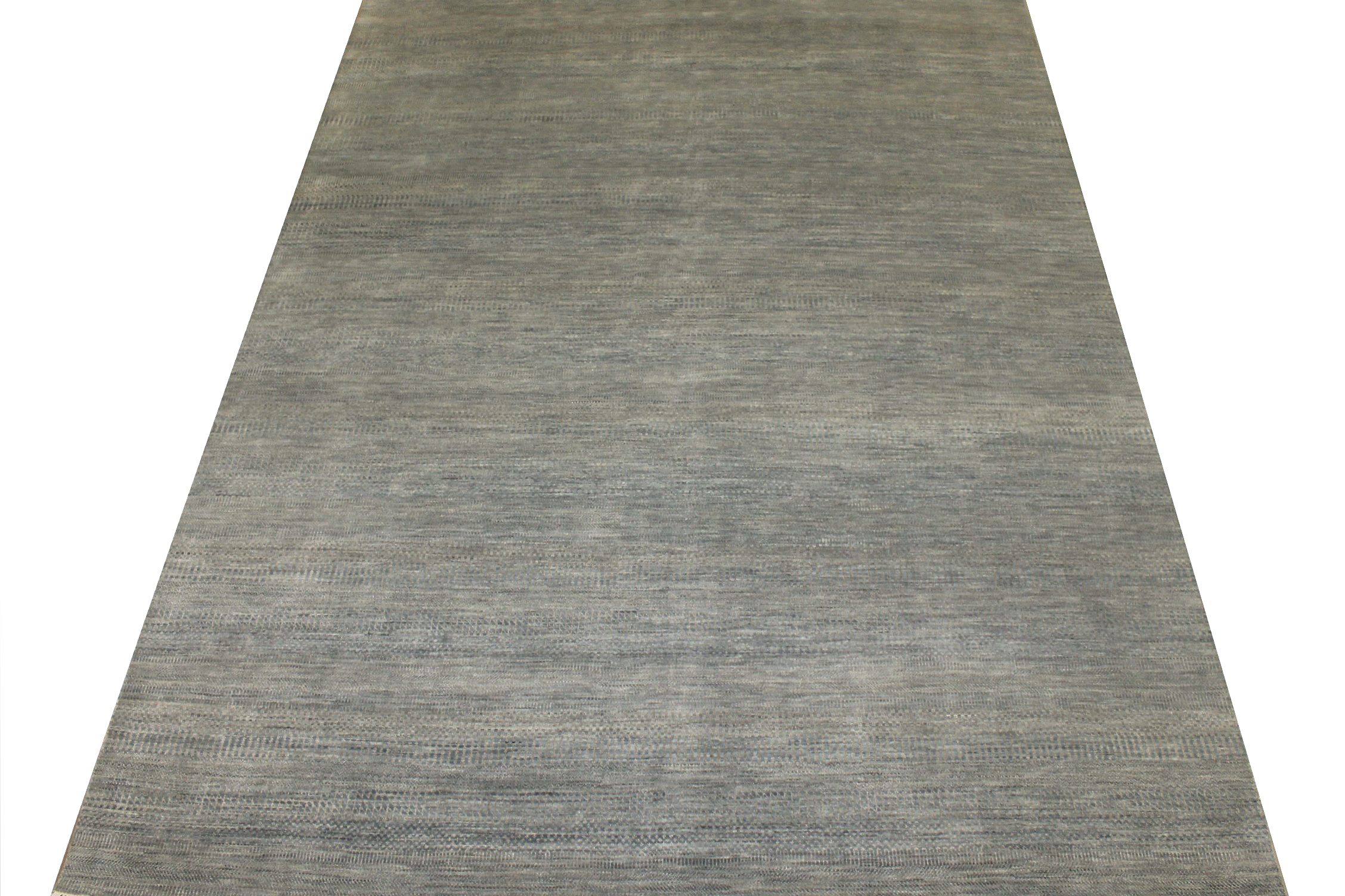 9x12 Casual Hand Knotted Wool & Bamboo Silk Area Rug - MR024860