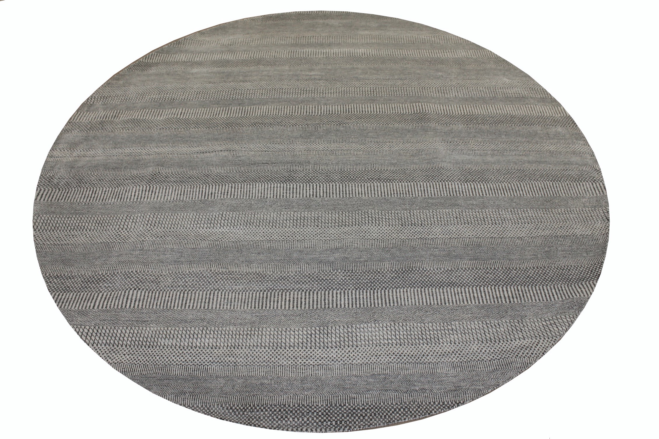 9 ft. & Over Round & Square Casual Hand Knotted Wool & Viscose Area Rug - MR024927