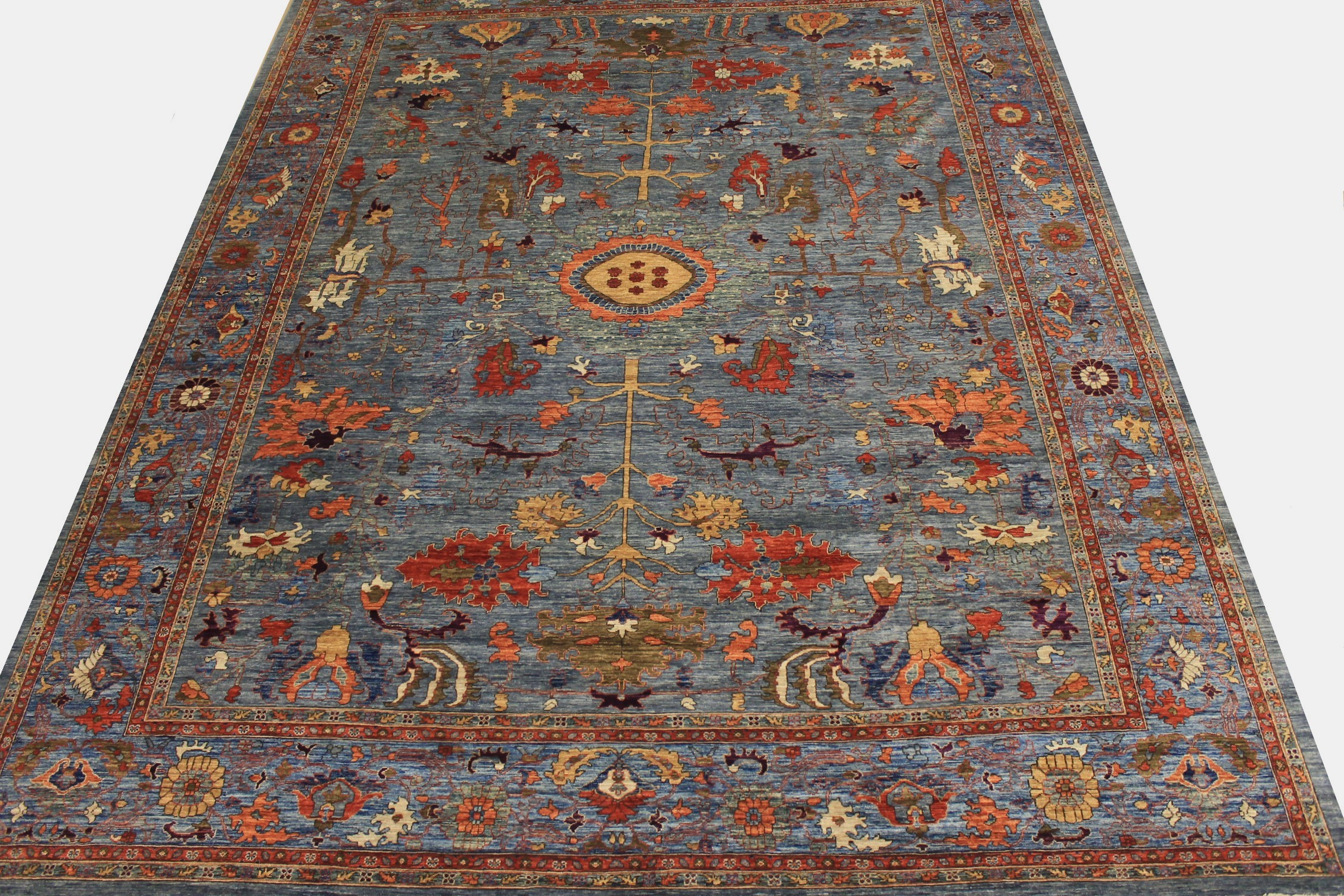 OVERSIZE Antique Revival Hand Knotted Wool Area Rug - MR024994