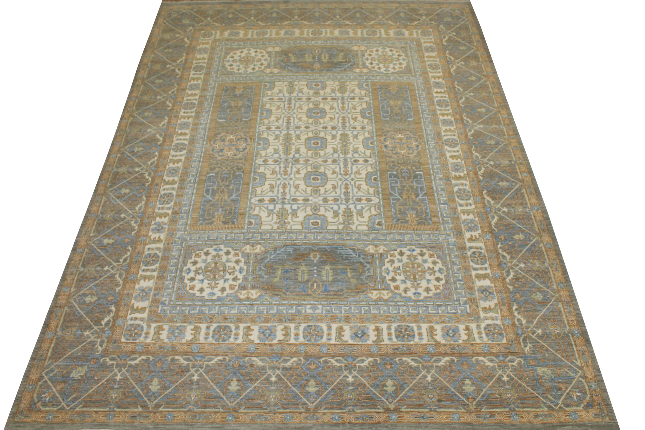 9x12 Traditional Hand Knotted Wool Area Rug - MR025107