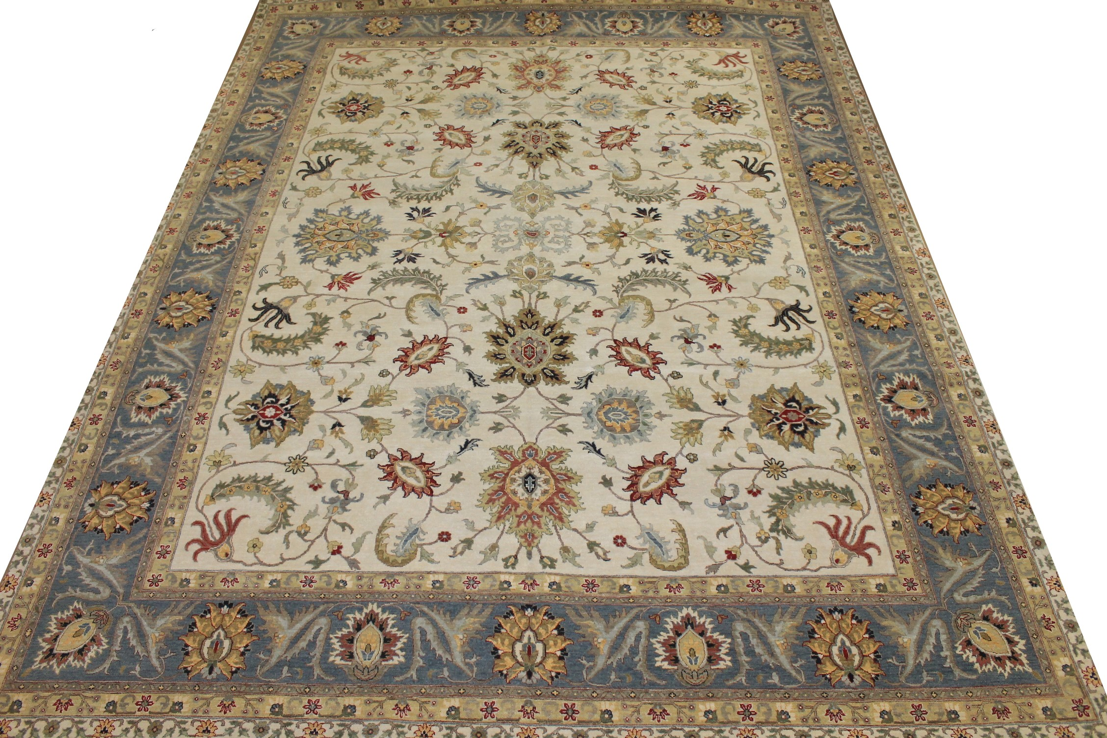 OVERSIZE Traditional Hand Knotted Wool Area Rug - MR025179