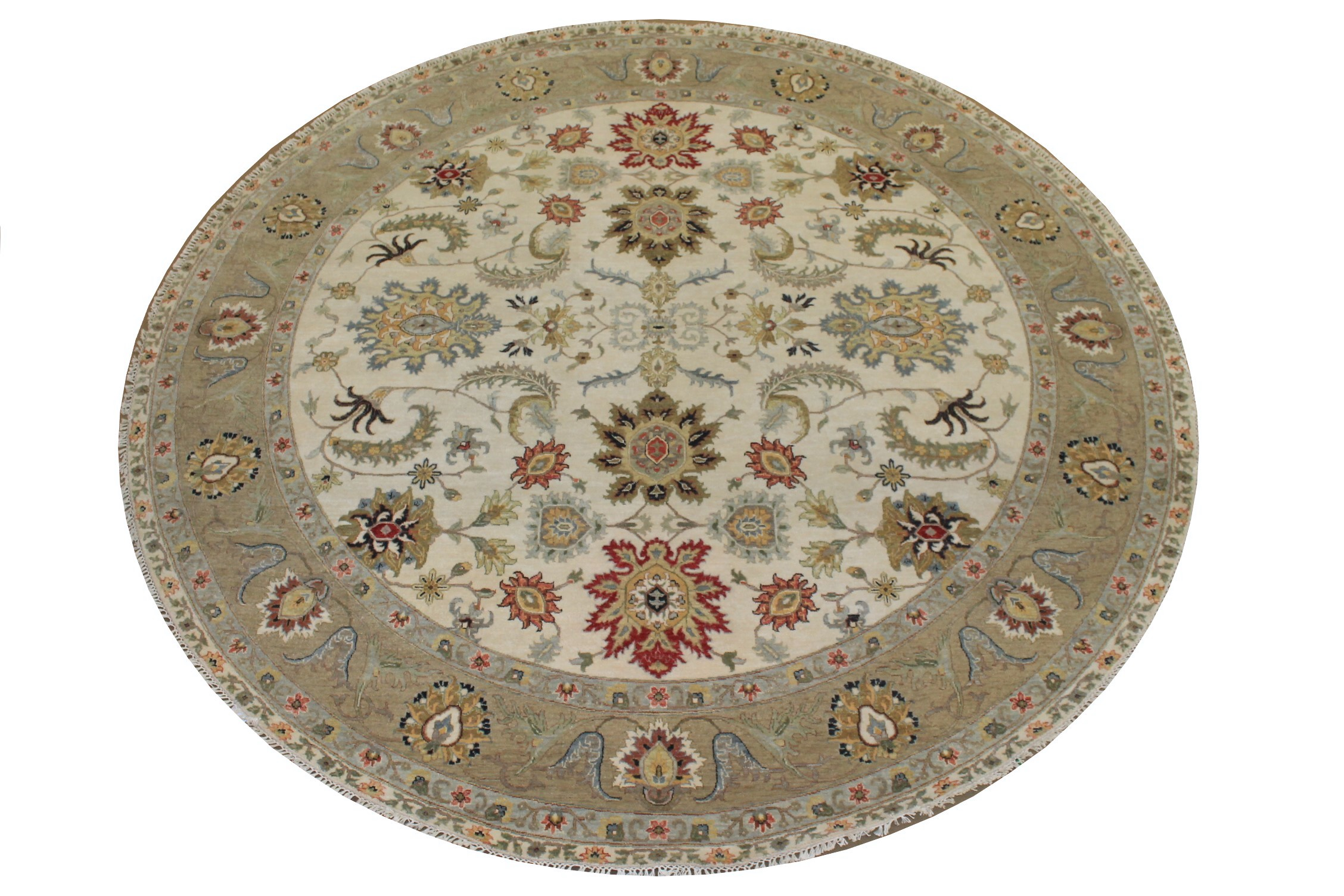 9 ft. & Over Round & Square Traditional Hand Knotted Wool Area Rug - MR025194