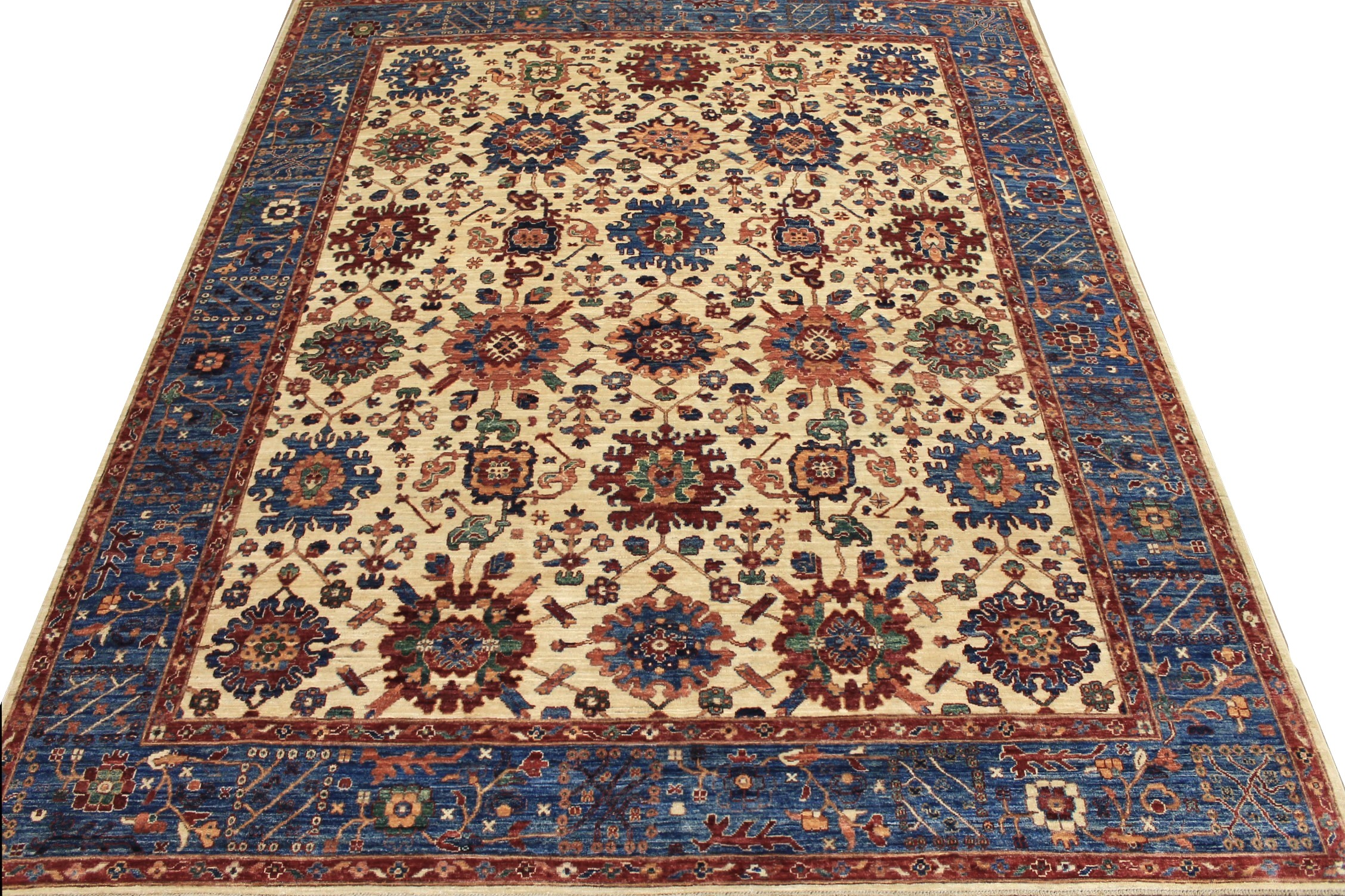 8x10 Aryana & Antique Revivals Hand Knotted Wool Area Rug - MR025280