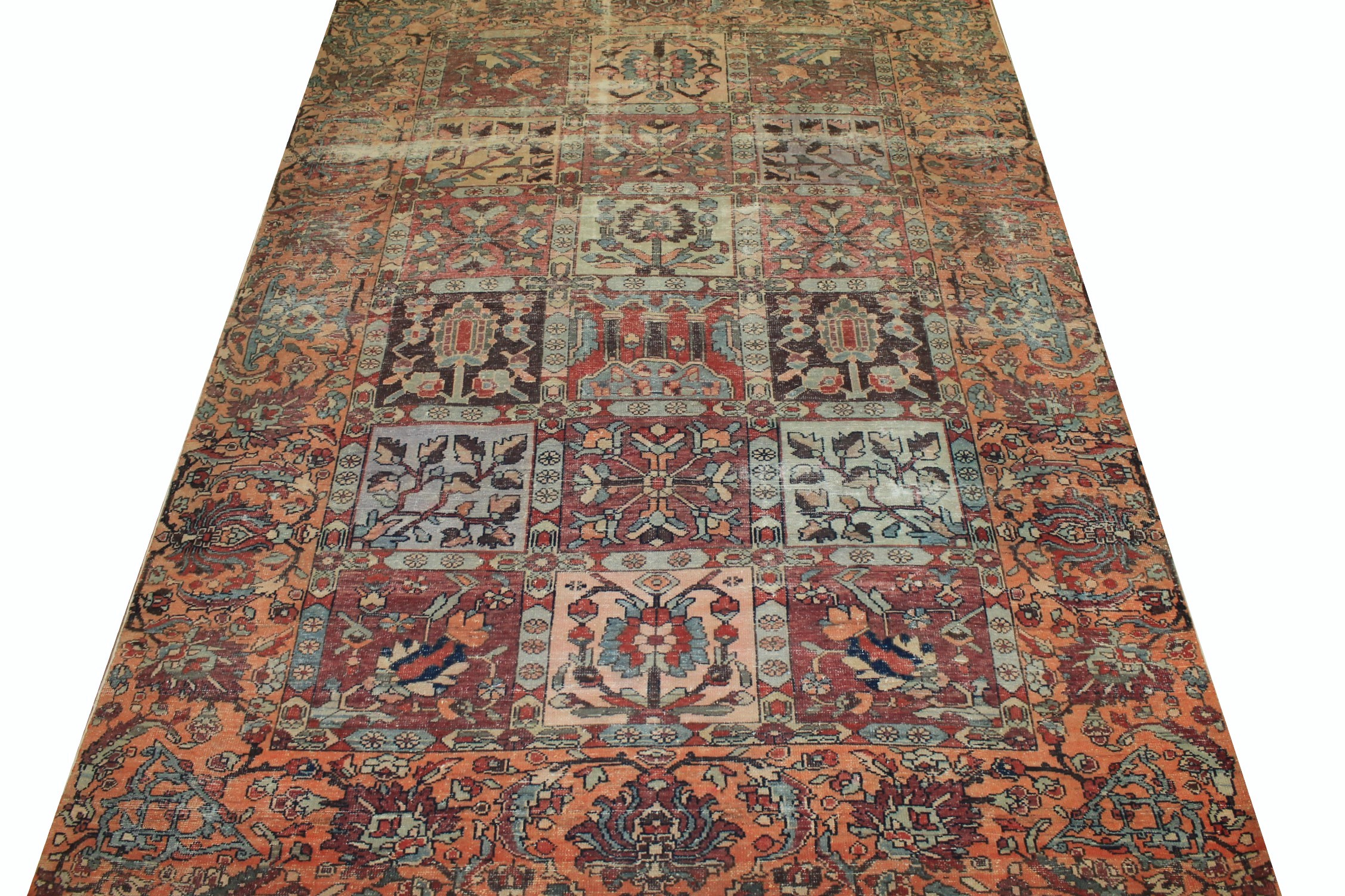 6x9 Vintage Hand Knotted Wool Area Rug - MR025325