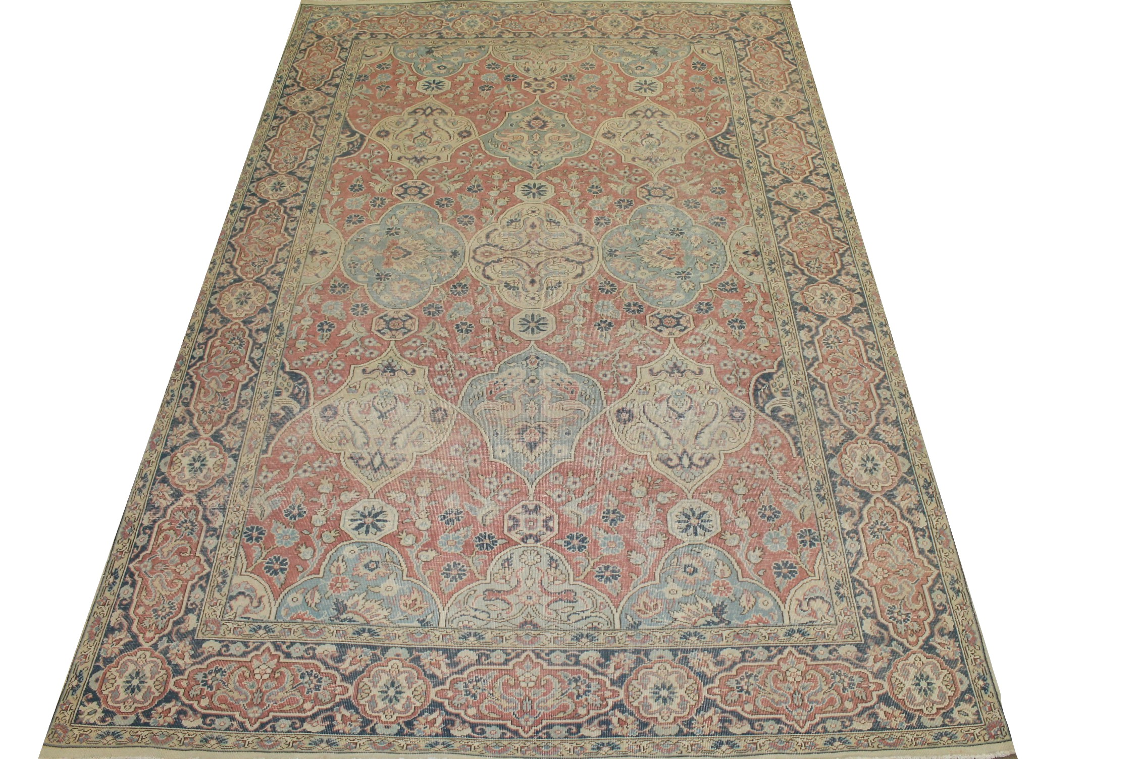 9x12 Vintage Hand Knotted Wool Area Rug - MR025326