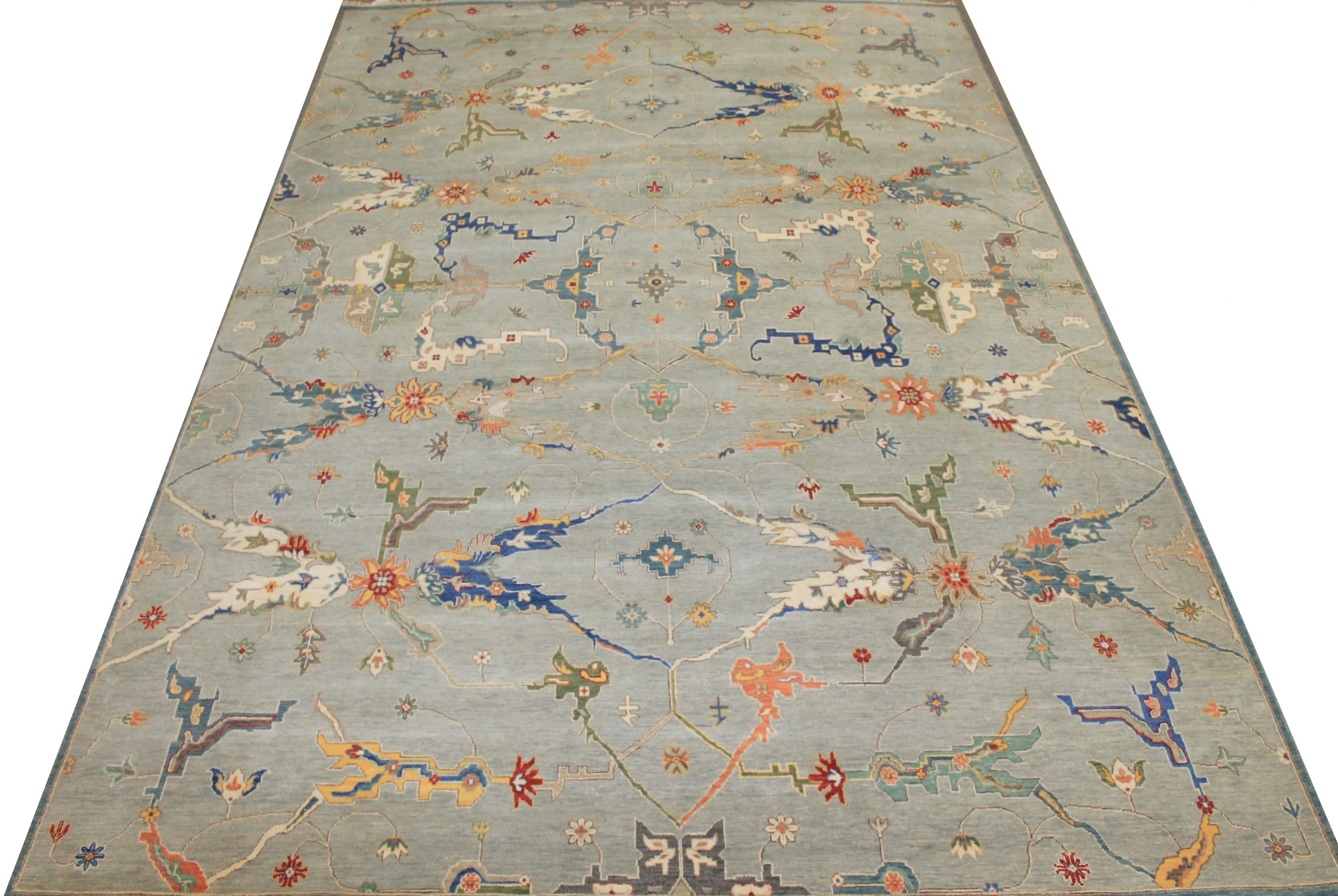 10x14 Oriental Hand Knotted Wool Area Rug - MR025476