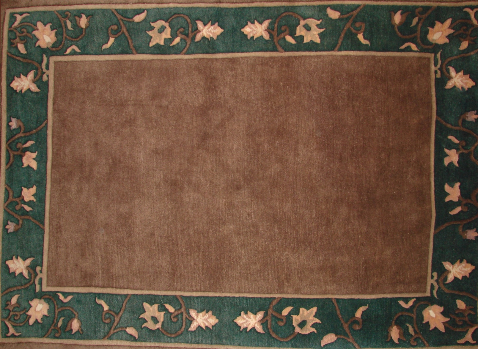 6x9 Contemporary Hand Knotted Wool Area Rug - MR0274