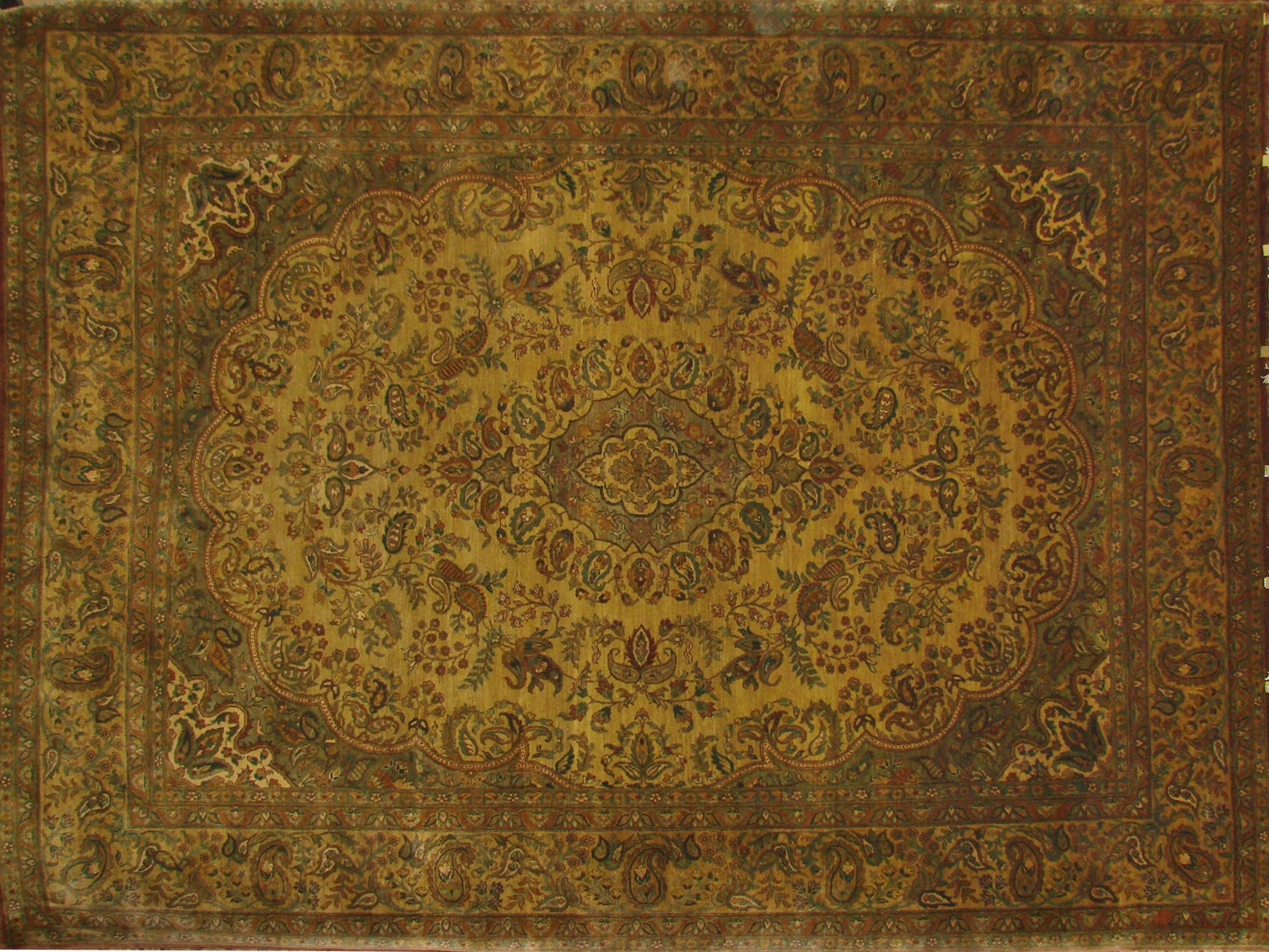 9x12 Jaipur Hand Knotted Wool Area Rug - MR0371