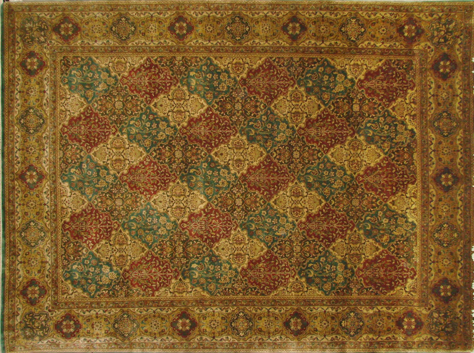 9x12 Jaipur Hand Knotted Wool Area Rug - MR0453