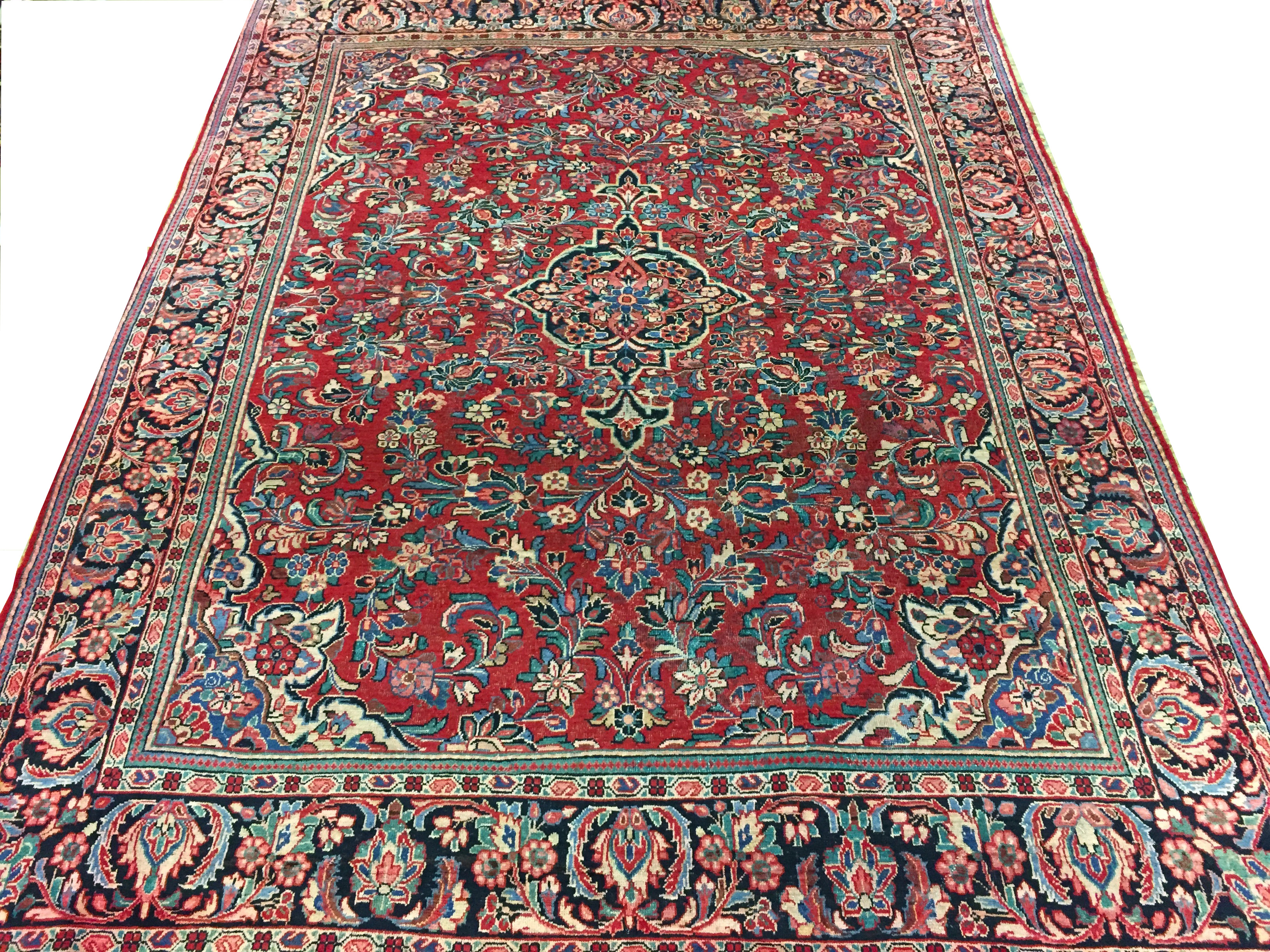 9x12 Traditional Hand Knotted Wool Area Rug - MR0579