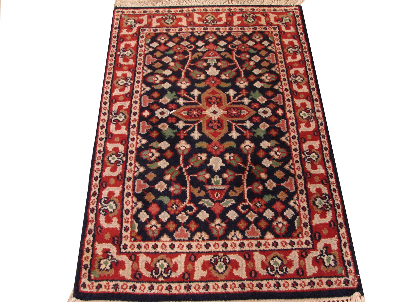 2X4 Traditional Hand Knotted Wool Area Rug - MR0584