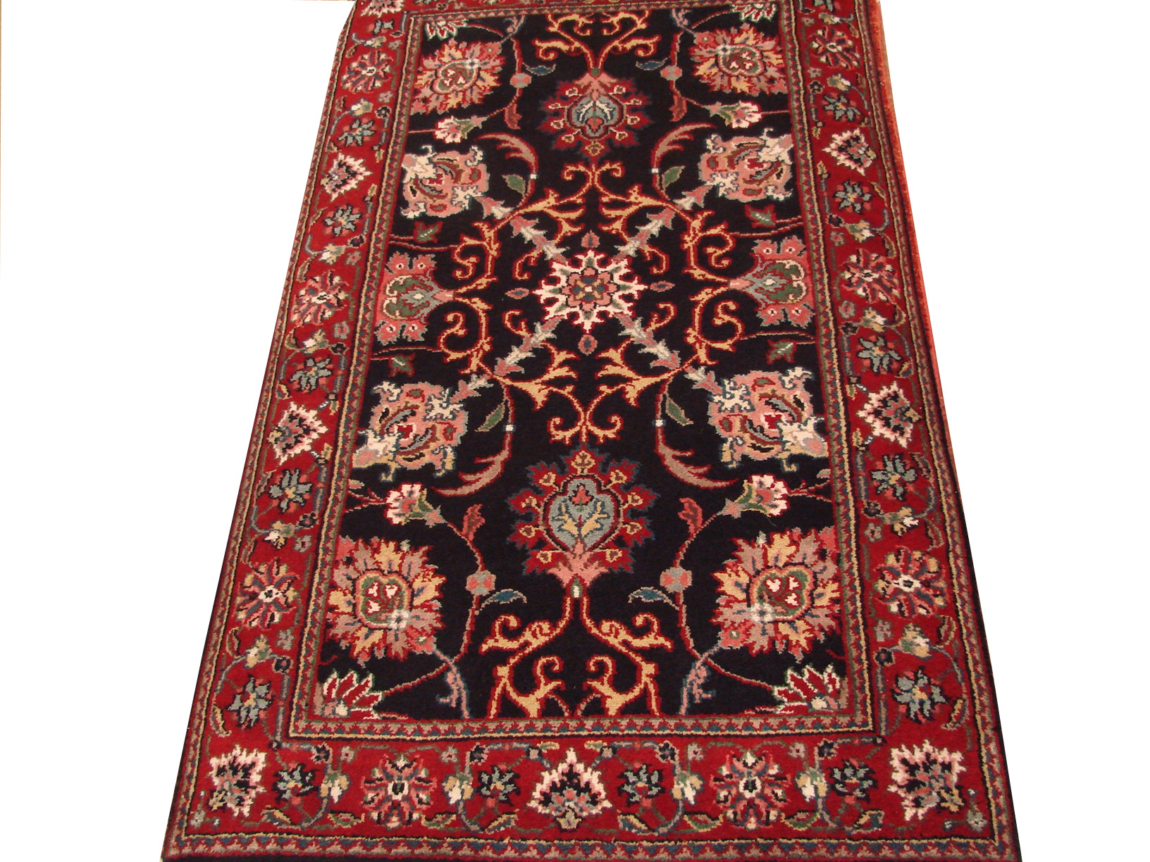 2X4 Traditional Hand Knotted Wool Area Rug - MR0680
