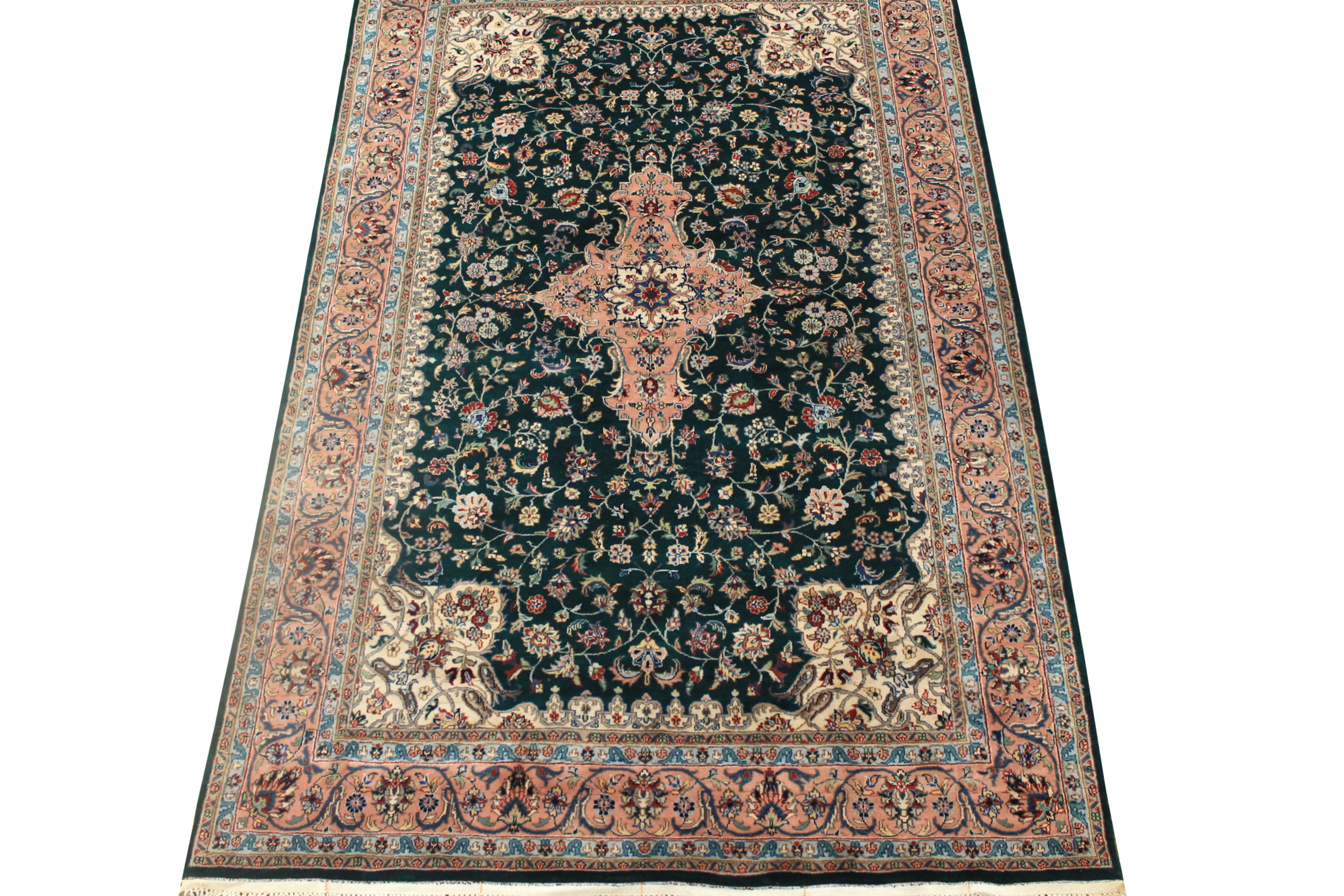 8x10 Traditional Hand Knotted Wool Area Rug - MR0719
