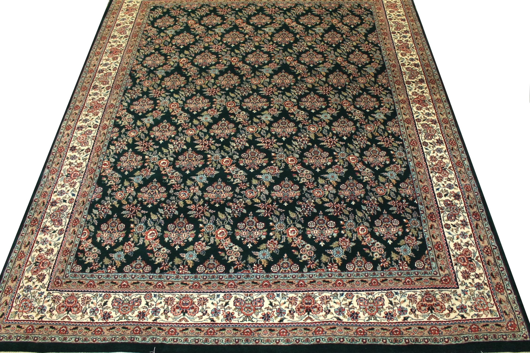 8x10 Traditional Hand Knotted Wool Area Rug - MR0748