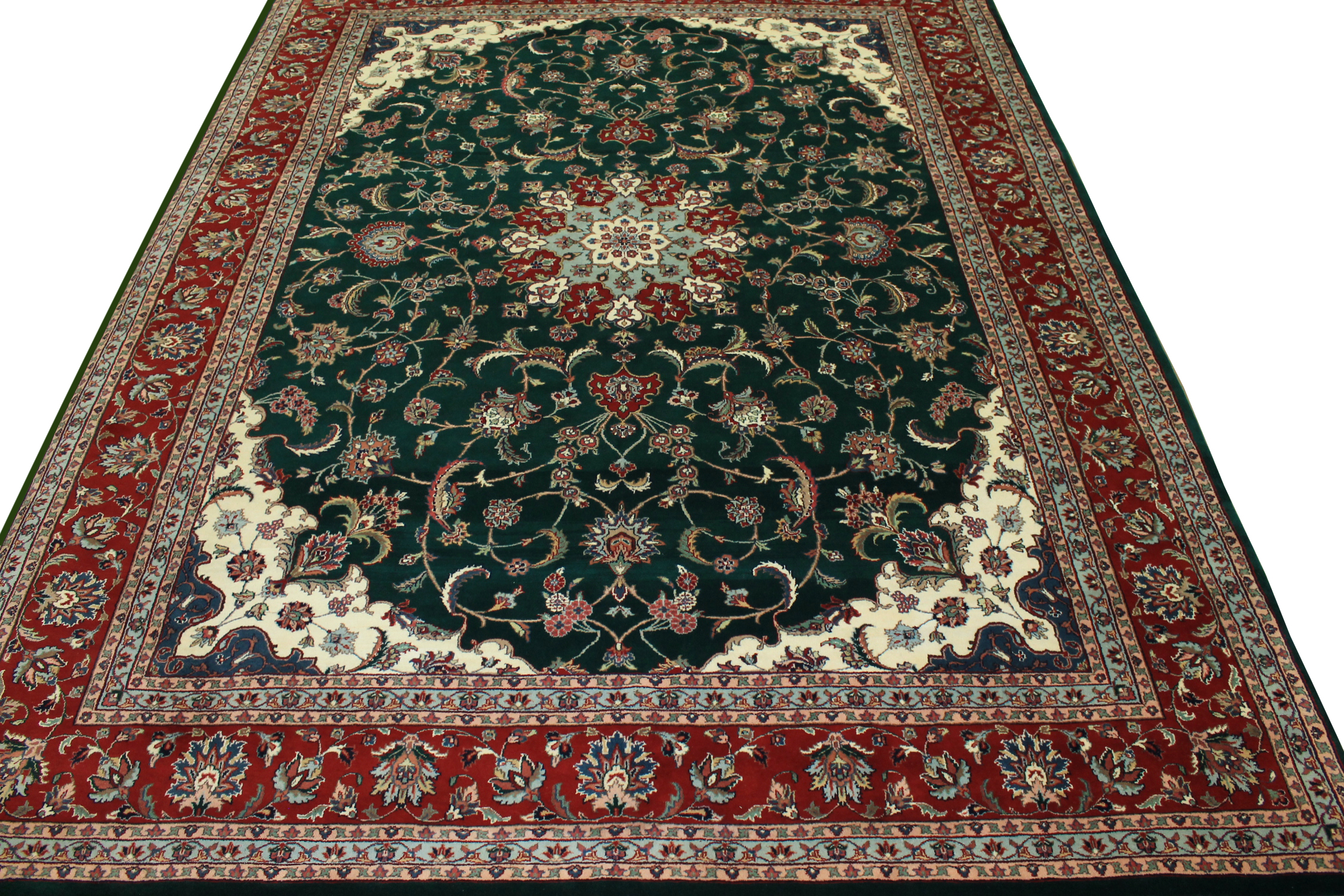 9x12 Traditional Hand Knotted Wool Area Rug - MR0762