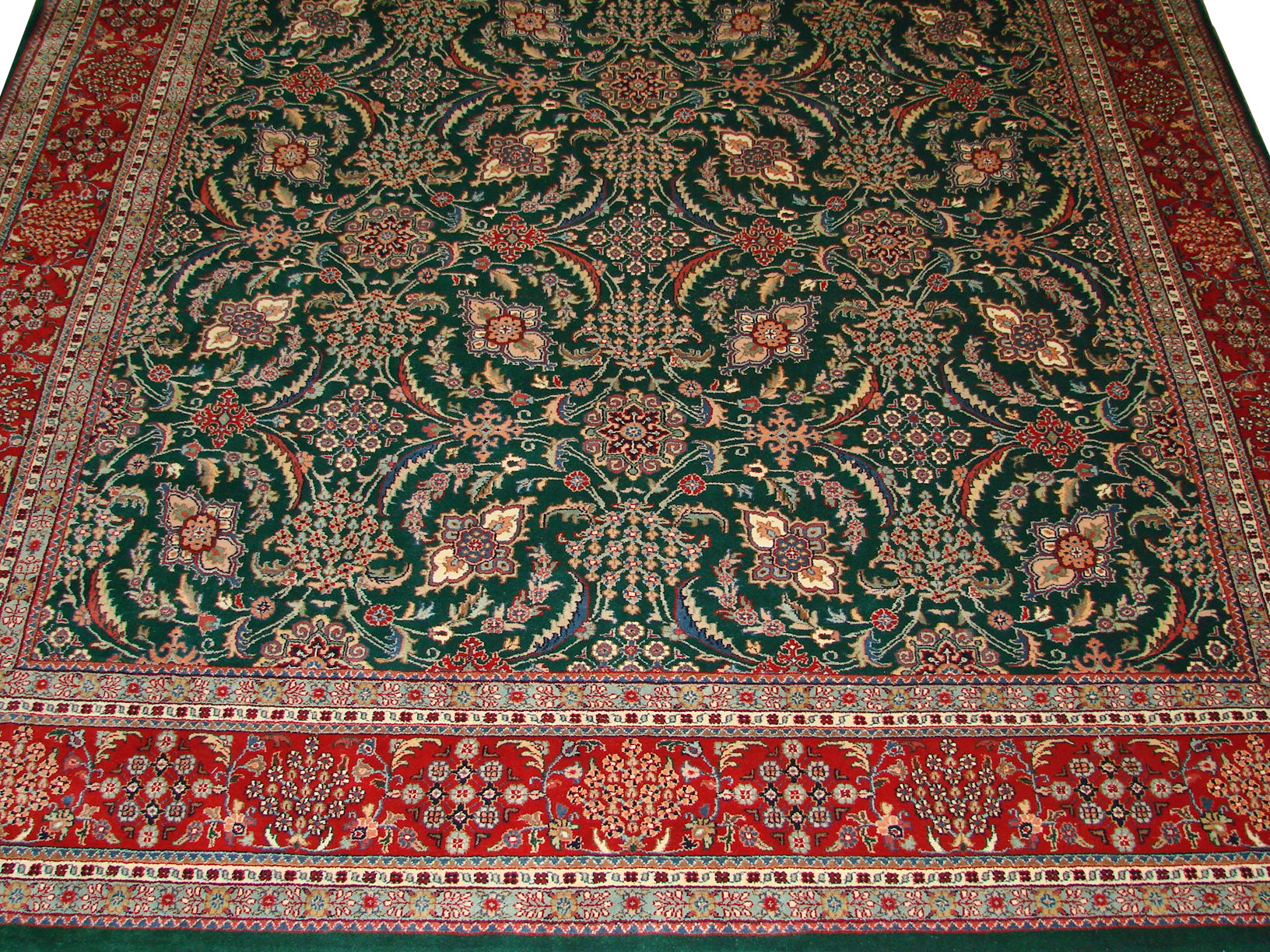 9x12 Traditional Hand Knotted Wool Area Rug - MR0769