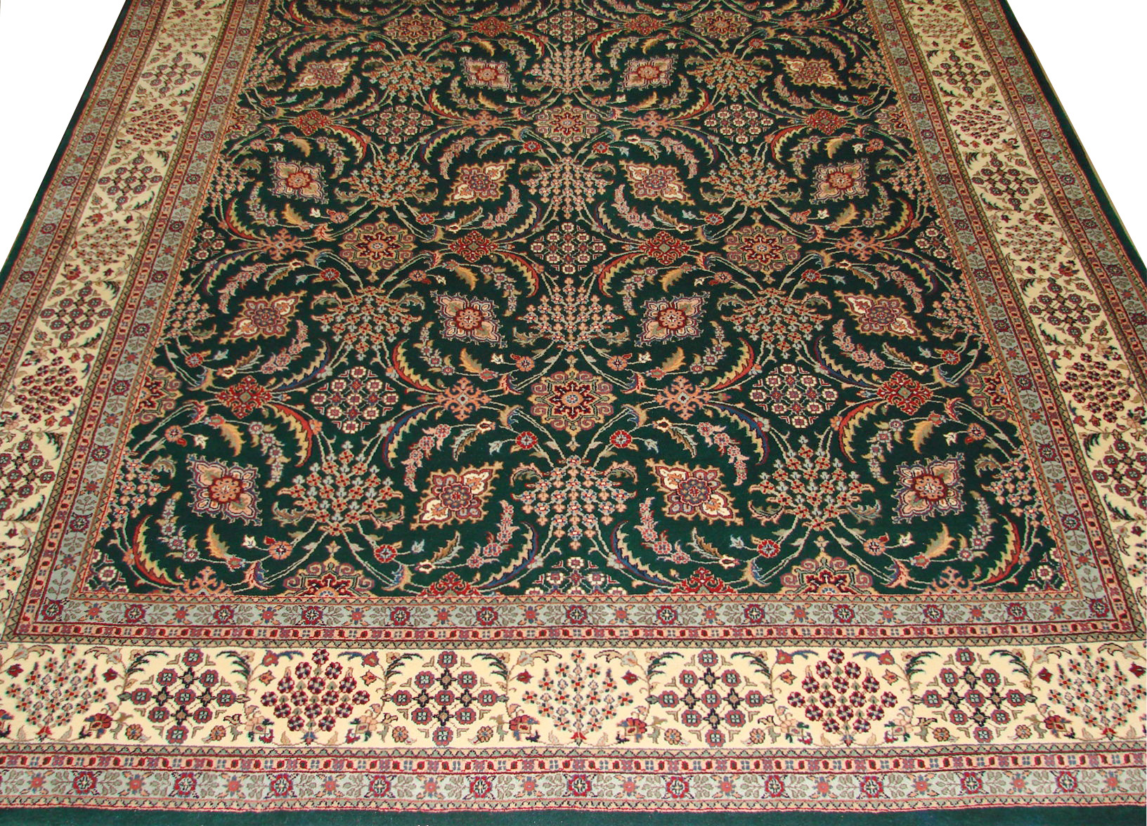 9x12 Traditional Hand Knotted Wool Area Rug - MR0776