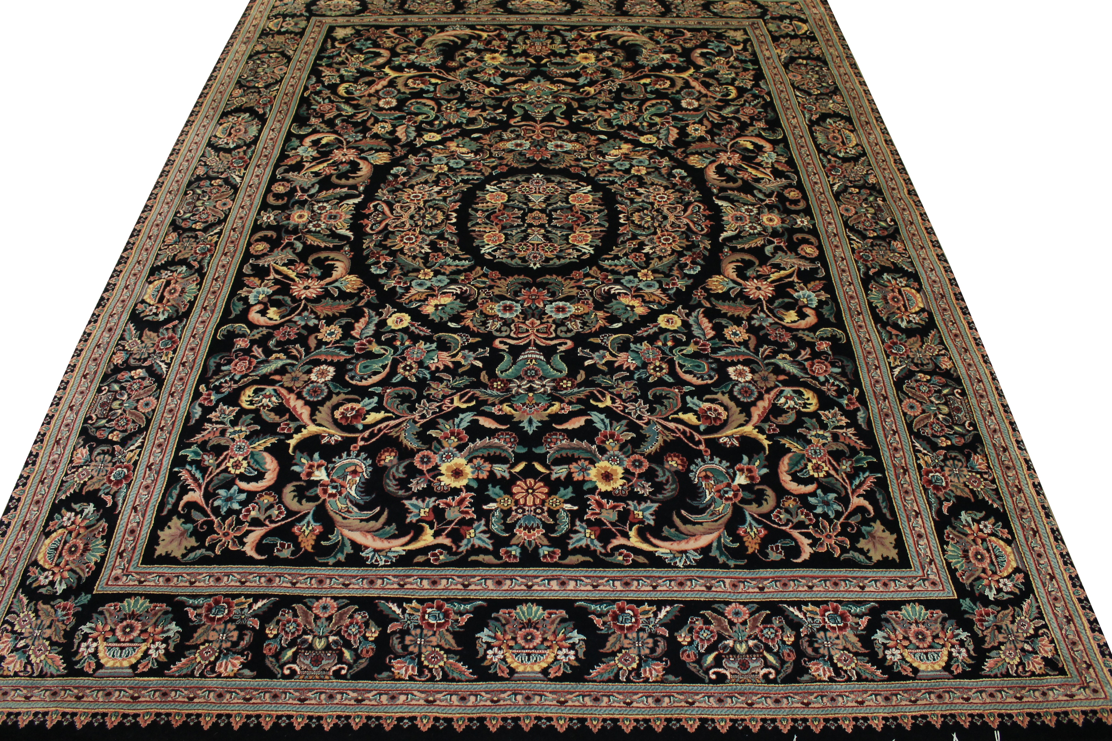 9x12 Traditional Hand Knotted Wool Area Rug - MR0779