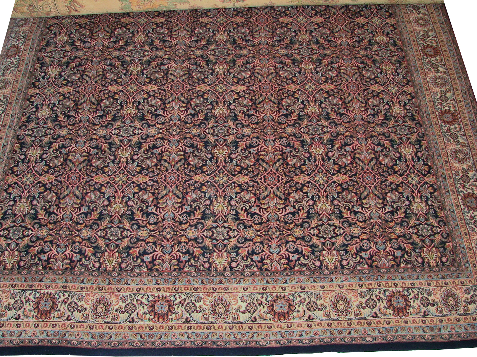 8x10 Traditional Hand Knotted Wool Area Rug - MR0981