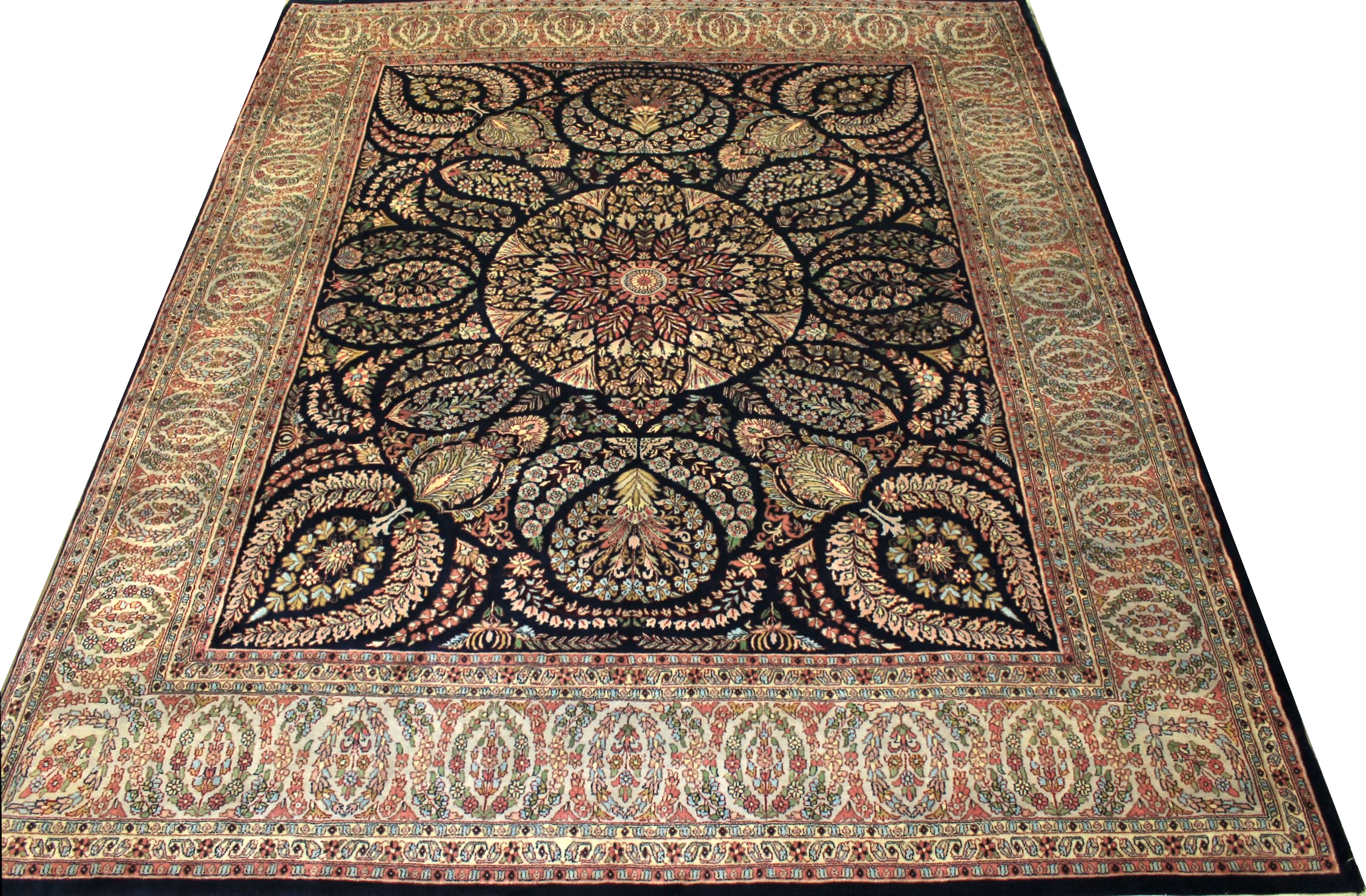8x10 Traditional Hand Knotted Wool Area Rug - MR0982